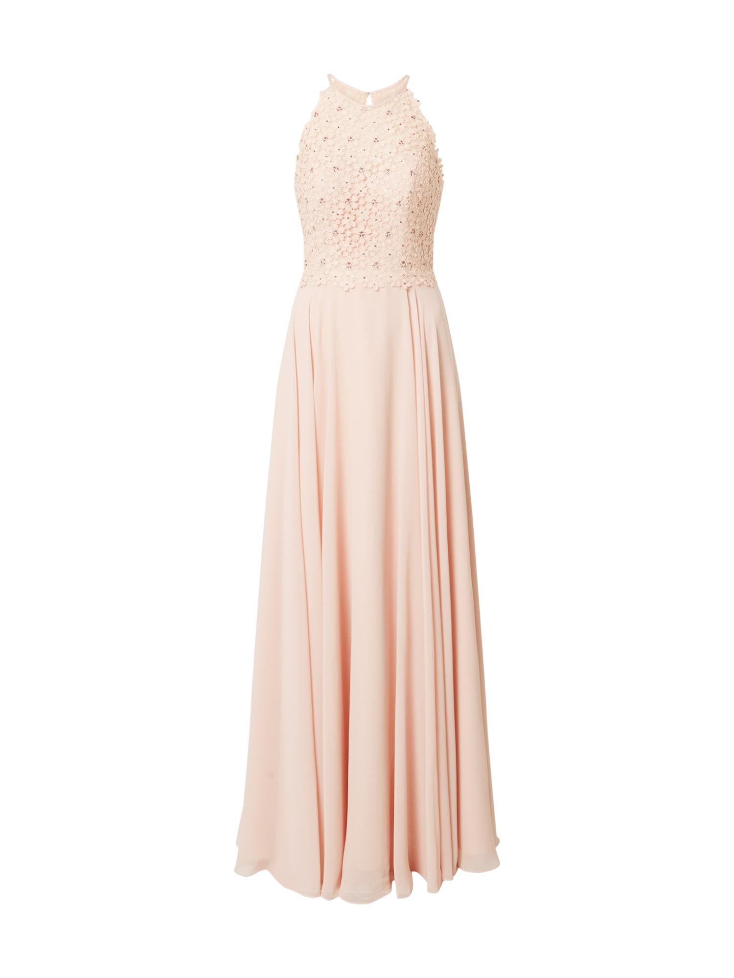 LUXUAR Vakarinė suknelė rožių spalva