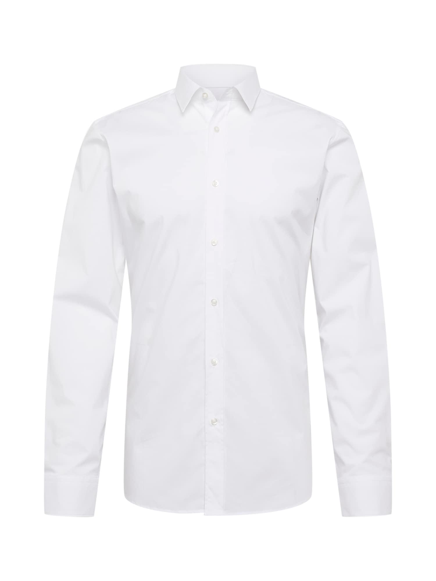 HUGO Košeľa 'Elisha02'  biela