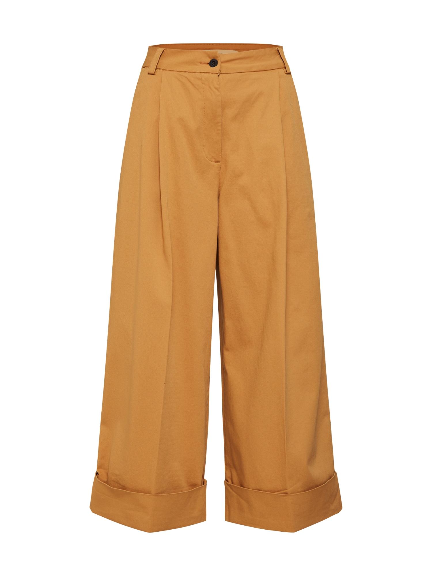 Kalhoty Torne Tailored velbloudí písková Kings Of Indigo