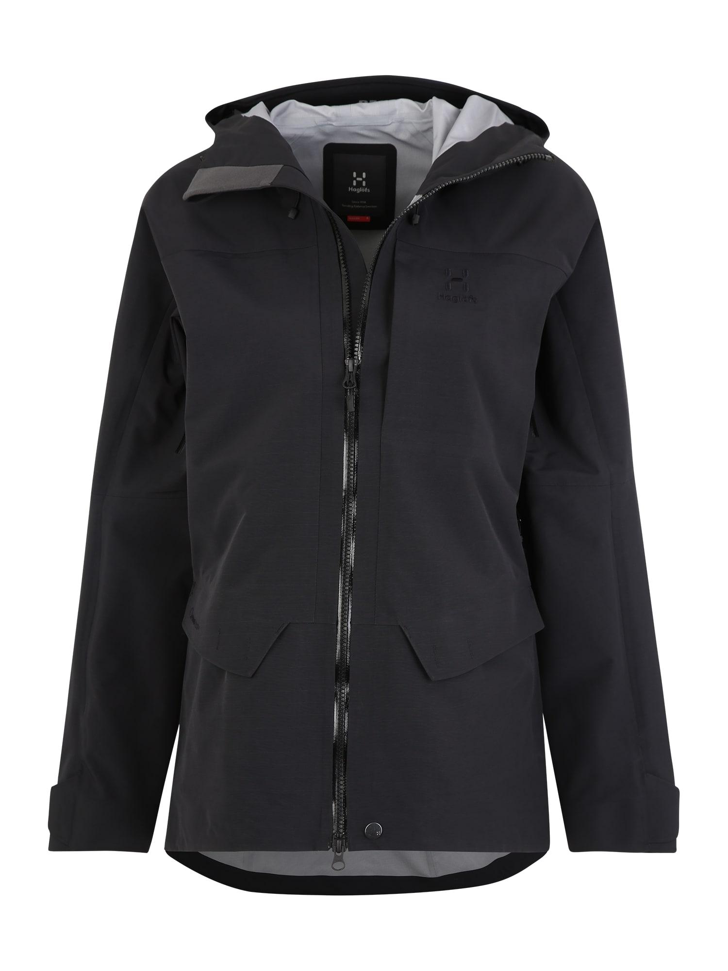 Outdoorová bunda Grym Evo Jacket Women černá Haglöfs