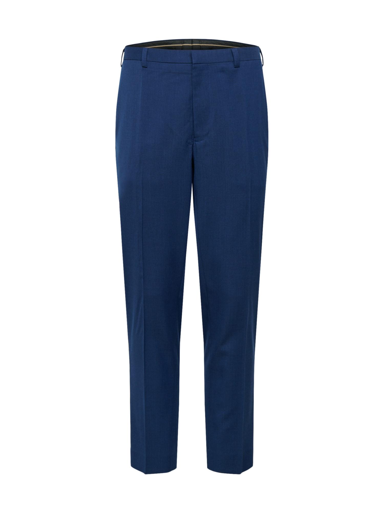 BURTON MENSWEAR LONDON Kelnės su kantu mėlyna