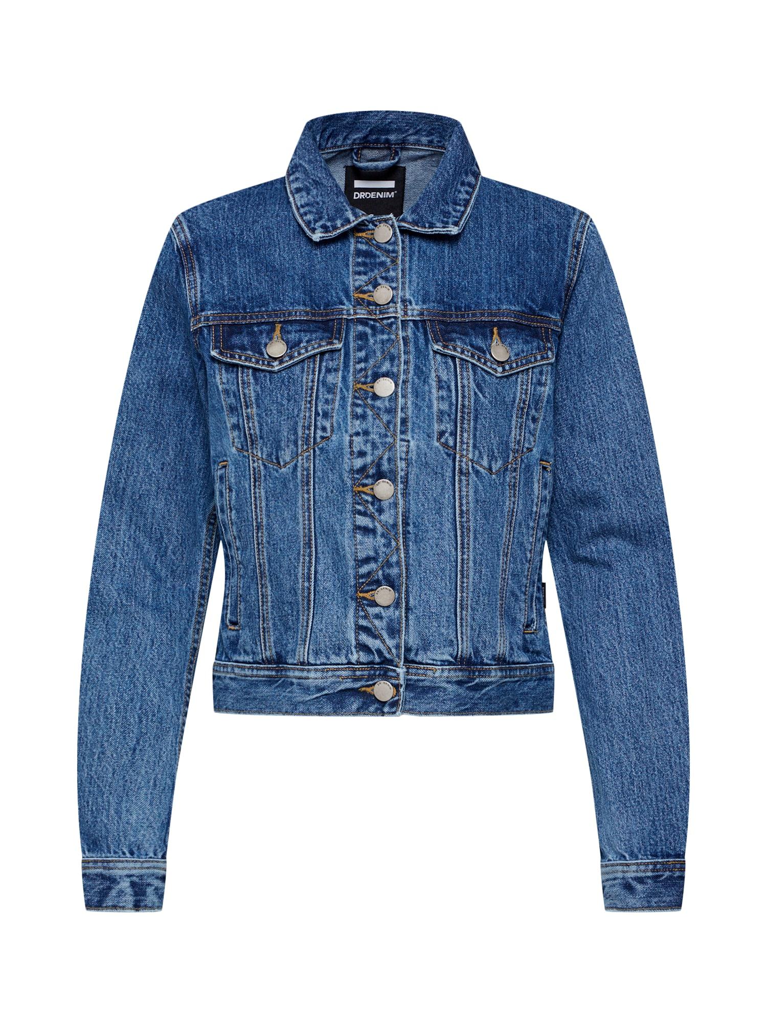 Přechodná bunda Viva Trucker Jacket modrá džínovina Dr. Denim