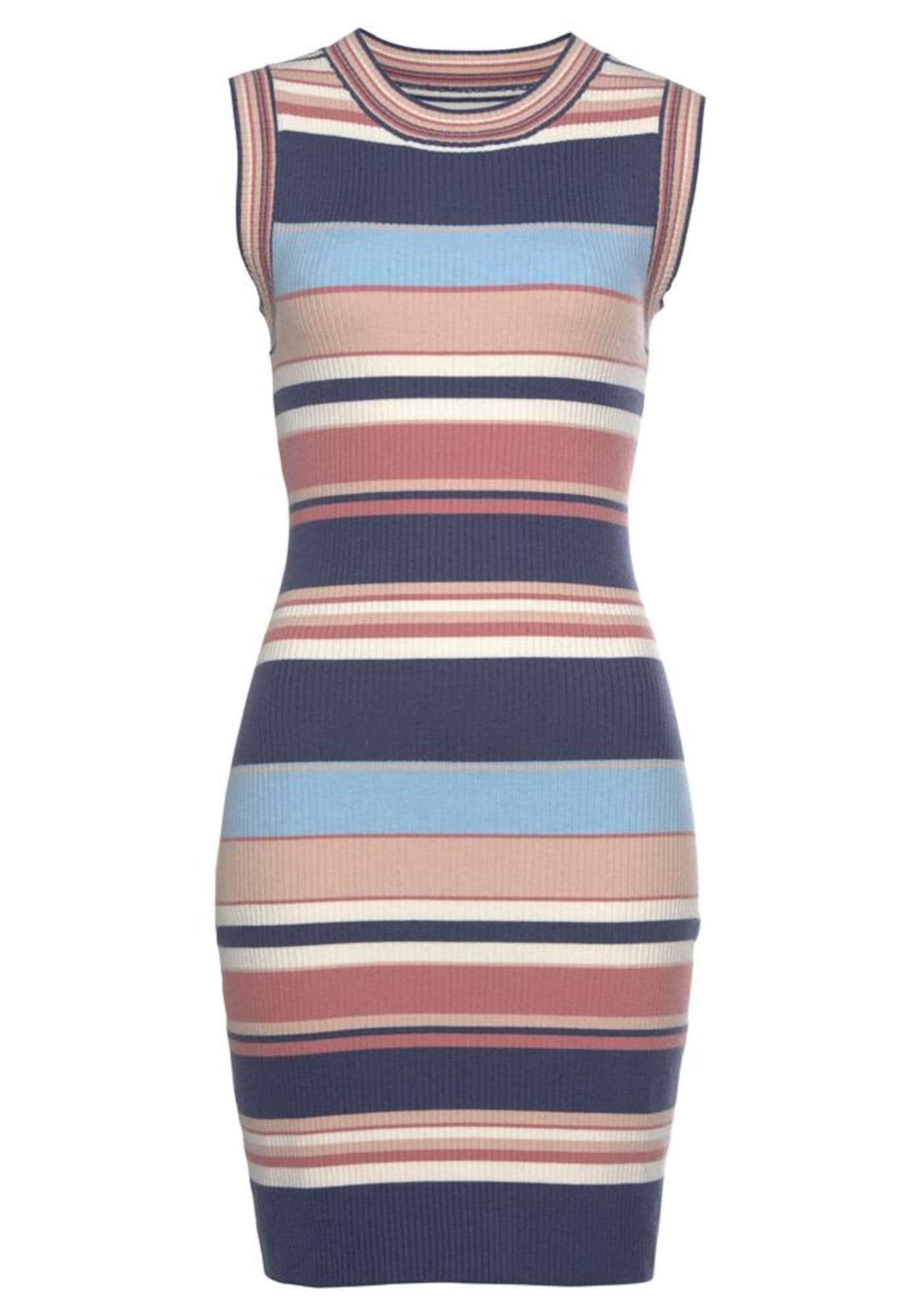 LASCANA Megzta suknelė mišrios spalvos