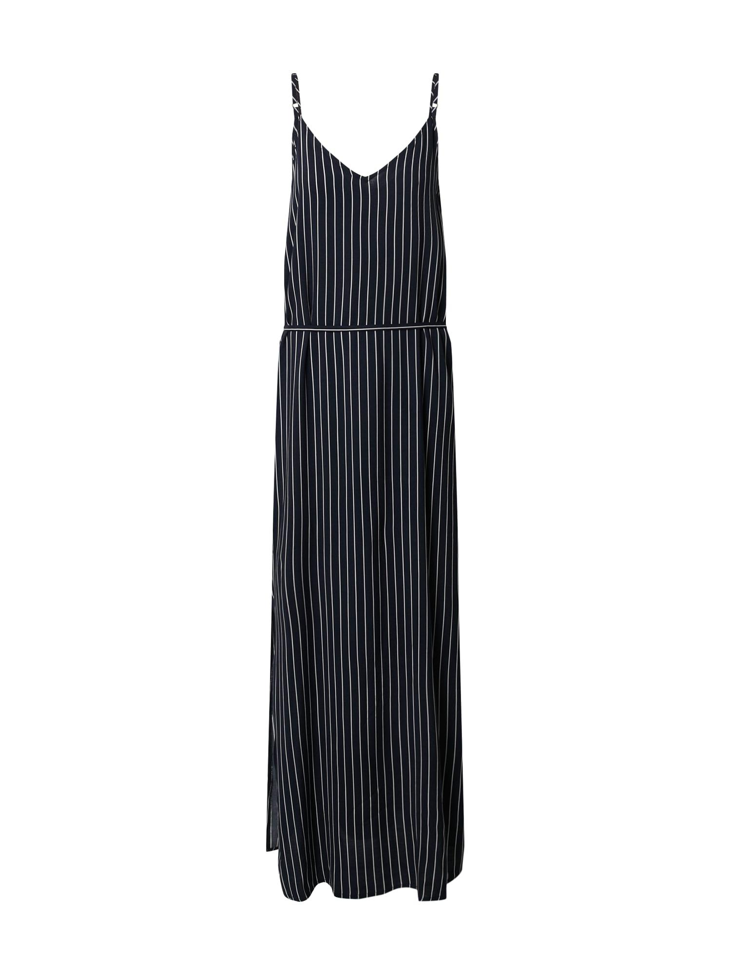 JACQUELINE de YONG Vasarinė suknelė balkšva / nakties mėlyna