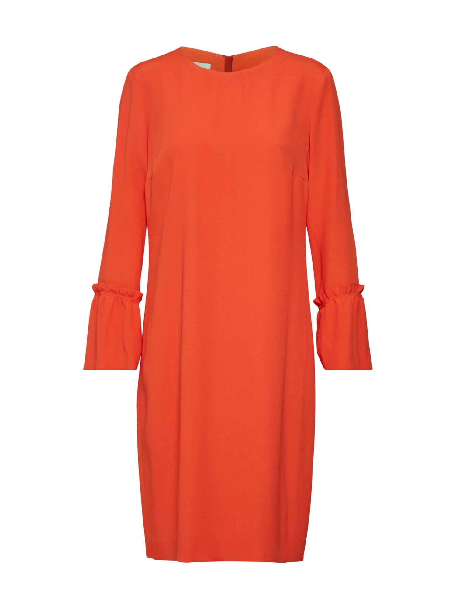 Košilové šaty E041S červená RENÉ LEZARD