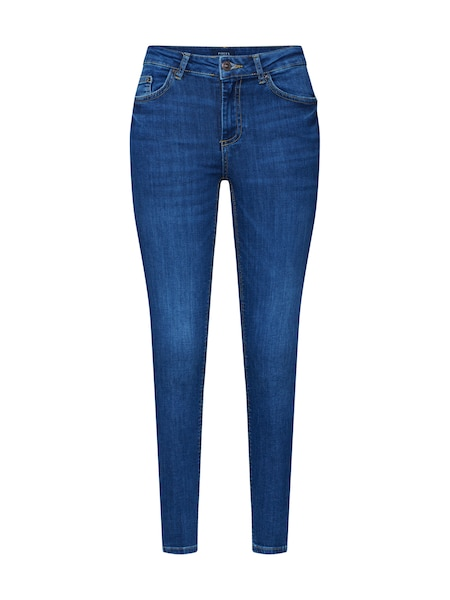 Hosen - Jeans 'PCDELLY SKN MW CR MB207 BA NOOS' › Pieces › blue denim  - Onlineshop ABOUT YOU