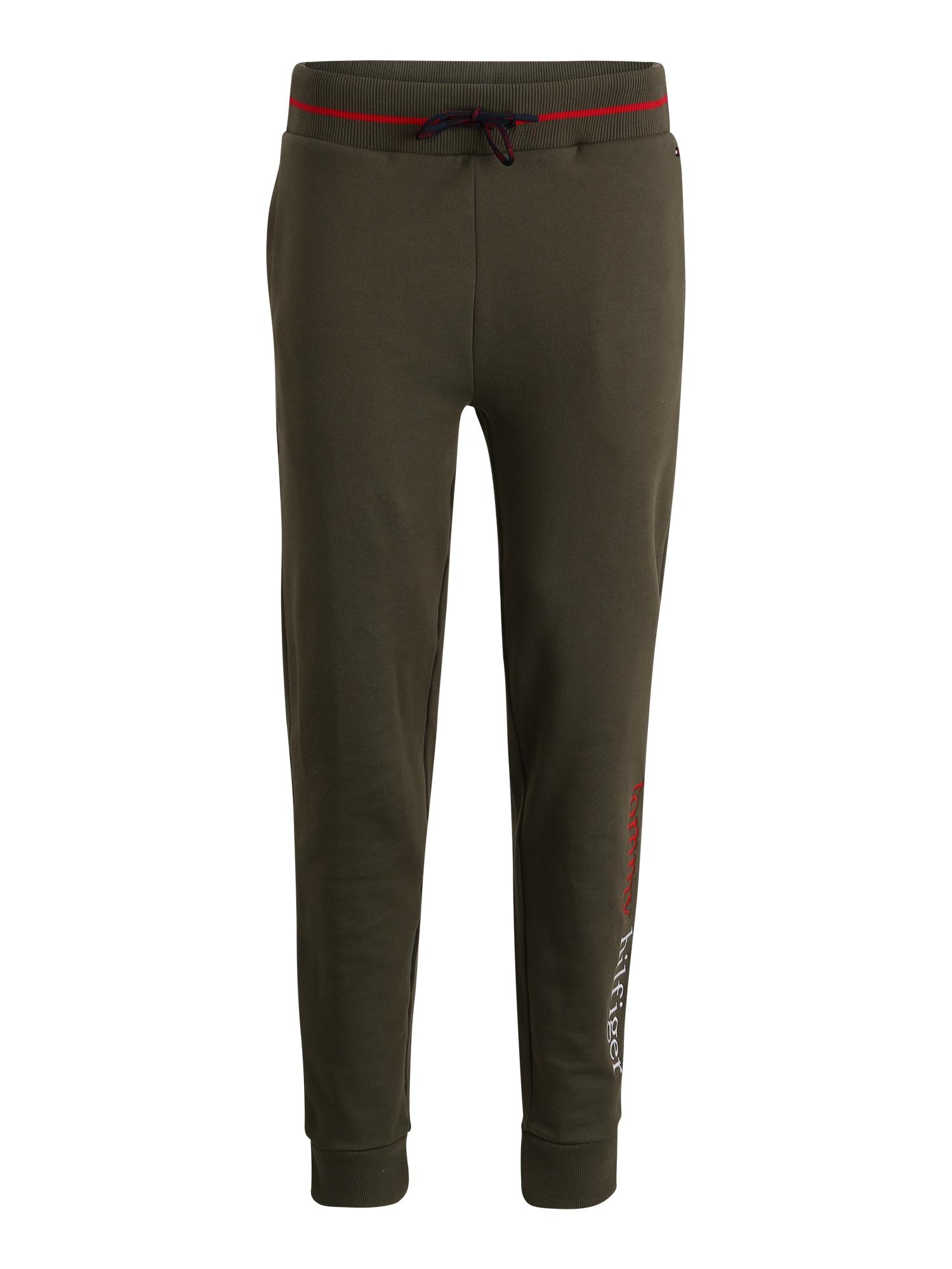Tommy Hilfiger Underwear Kelnės 'PANTS LWK' tamsiai žalia