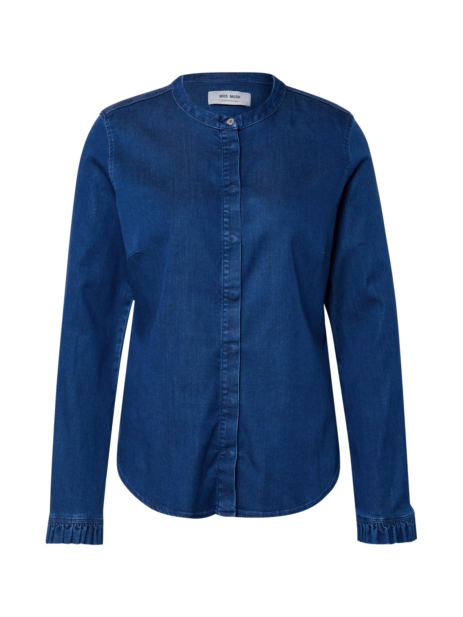 MOS MOSH Palaidinė tamsiai mėlyna / tamsiai (džinso) mėlyna