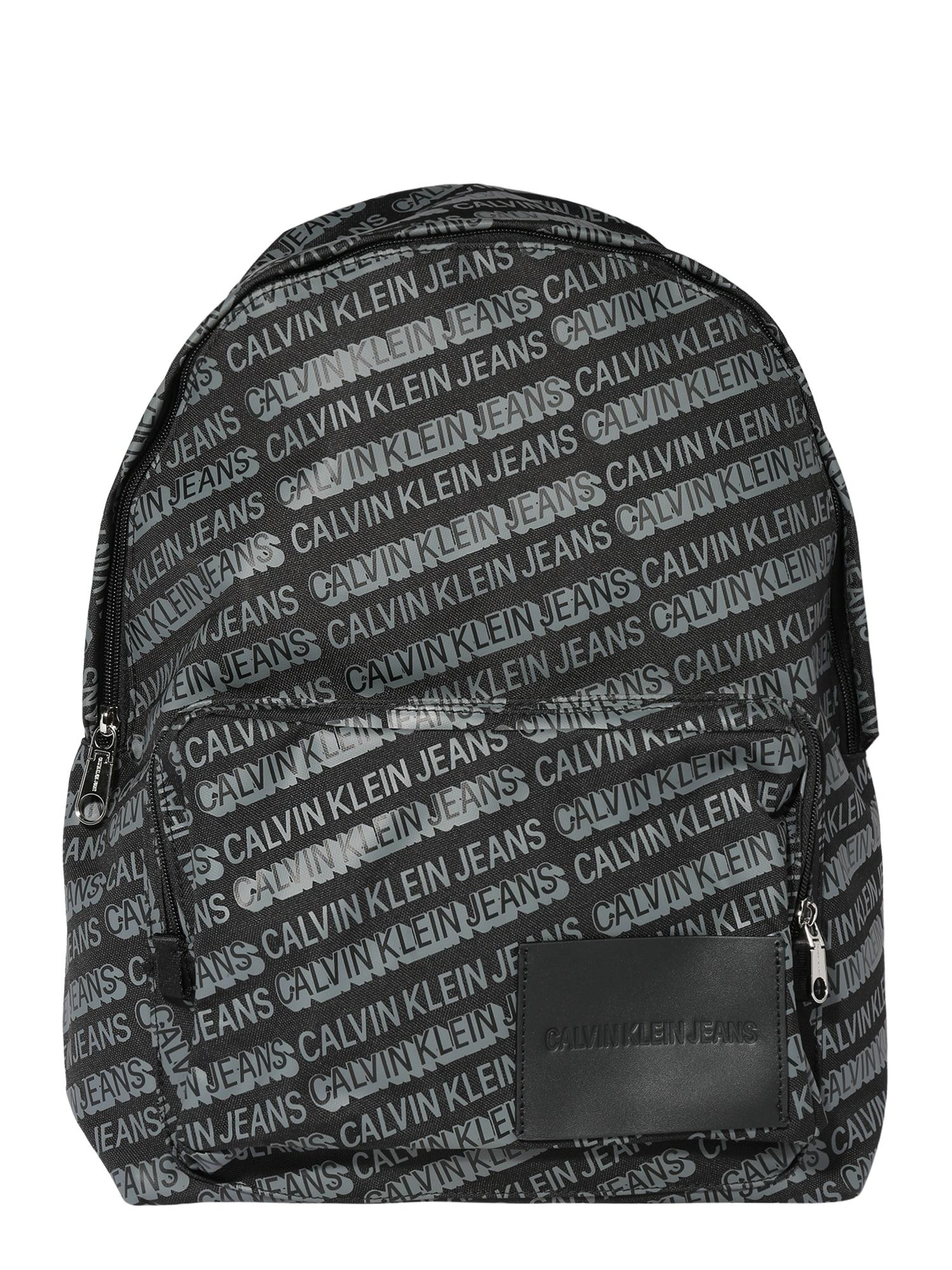 Calvin Klein Jeans Batoh 'CAMPUS BP45'  čierna