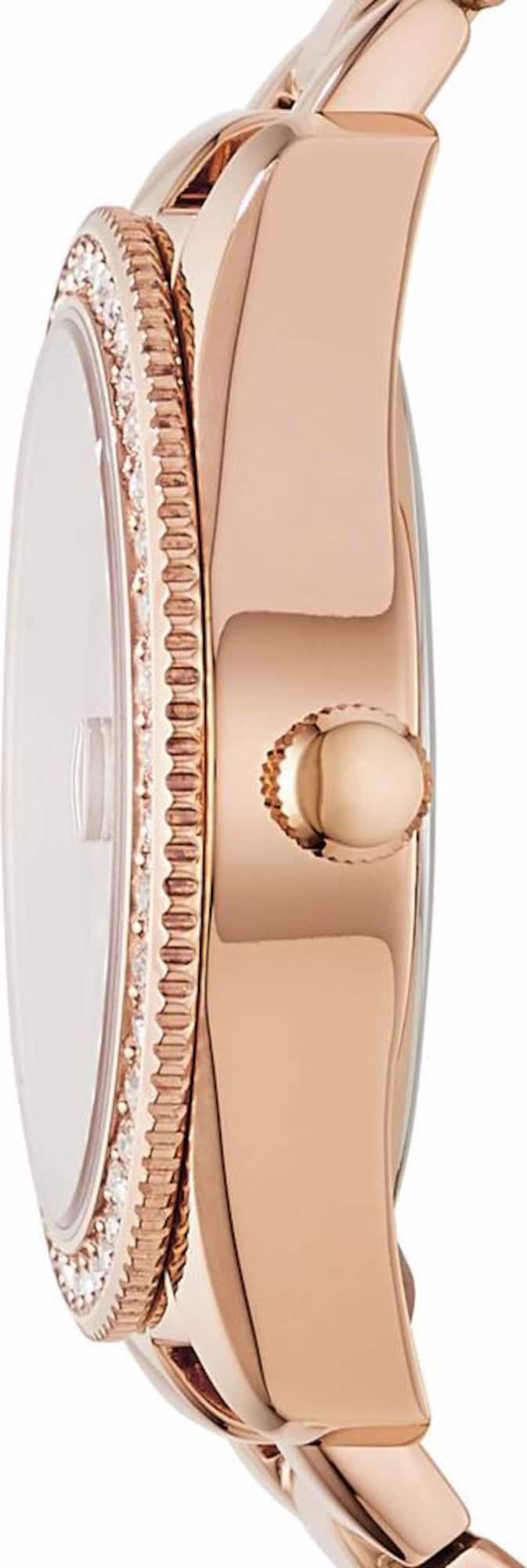 FOSSIL Analoginis (įprasto dizaino) laikrodis 'SCARLETTE, ES4318' rožinio aukso spalva