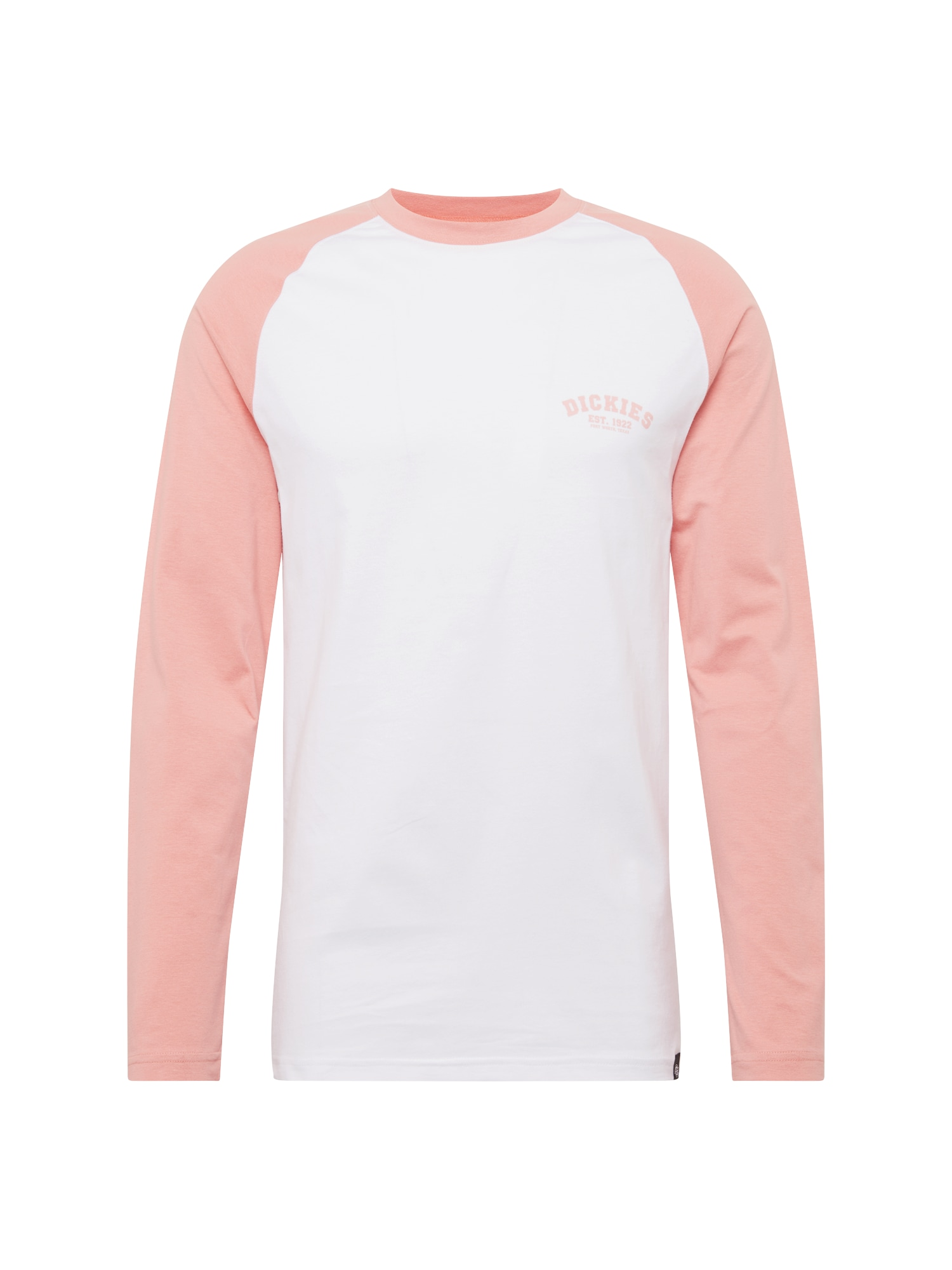 Tričko Baseball růžová bílá DICKIES
