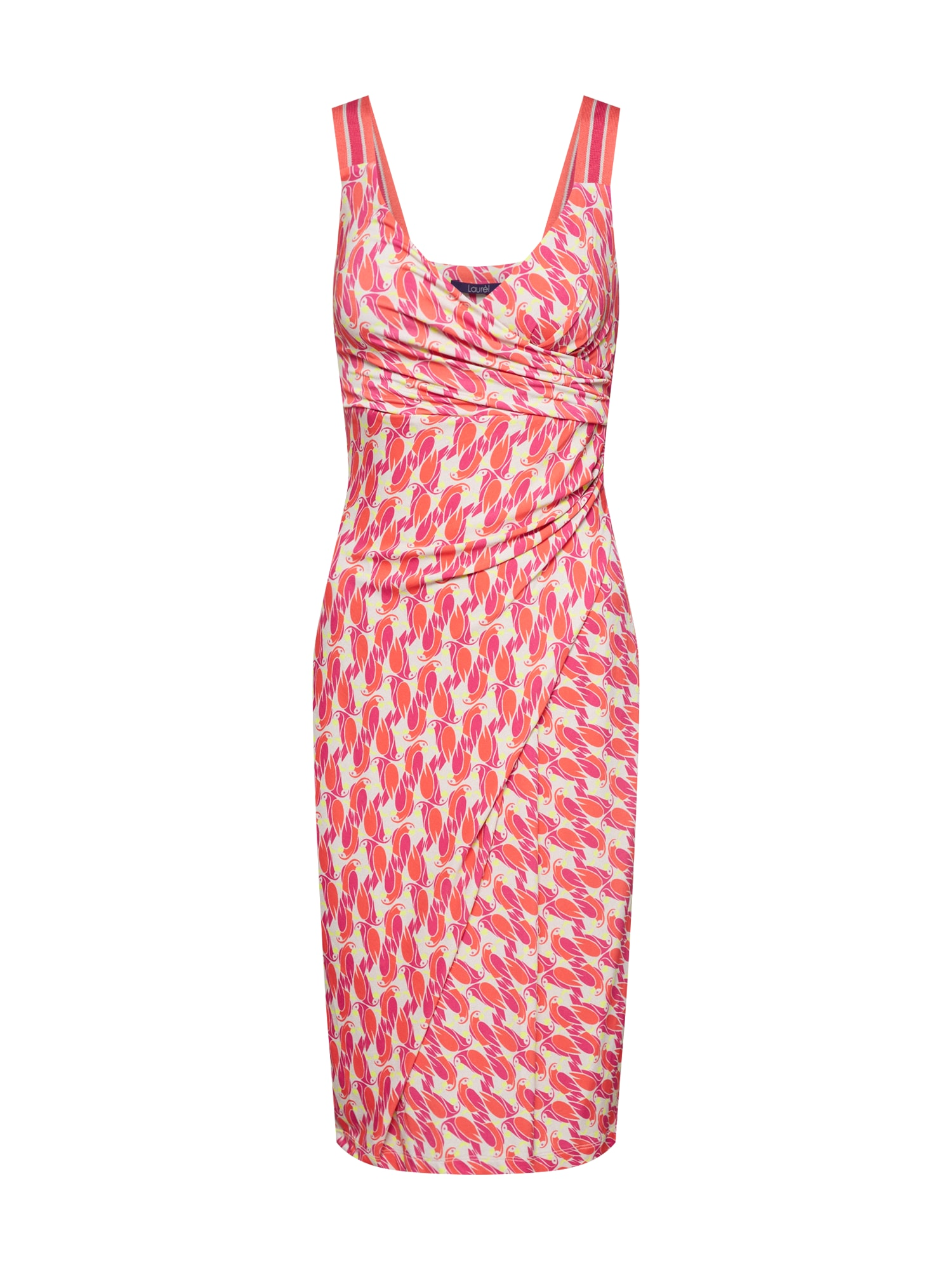 LAUREL Kokteilinė suknelė raudona