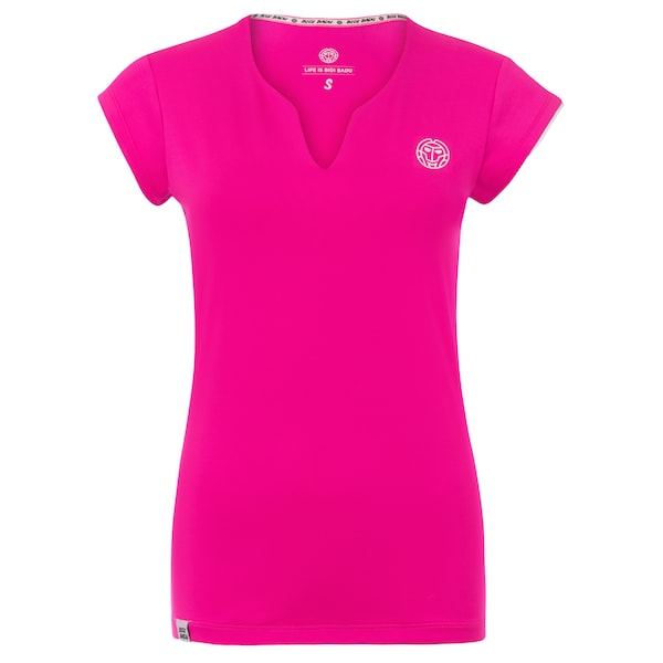 Sportmode für Frauen - Shirt 'Bella Tech' › BIDI BADU › pink  - Onlineshop ABOUT YOU