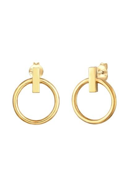 Ohrringe - Ohrringe Geo, Kreis › ELLI › gold  - Onlineshop ABOUT YOU