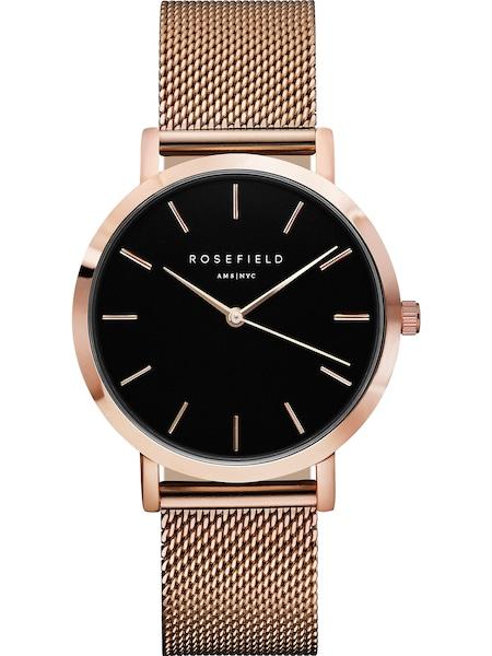 Uhren für Frauen - ROSEFIELD Uhr gold schwarz  - Onlineshop ABOUT YOU