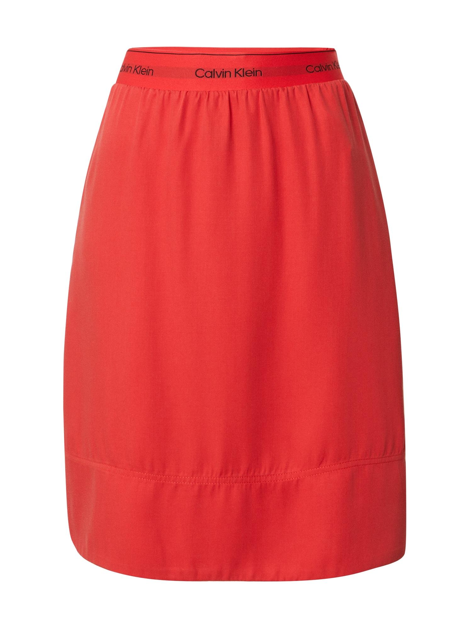 Calvin Klein Sukně  oranžová