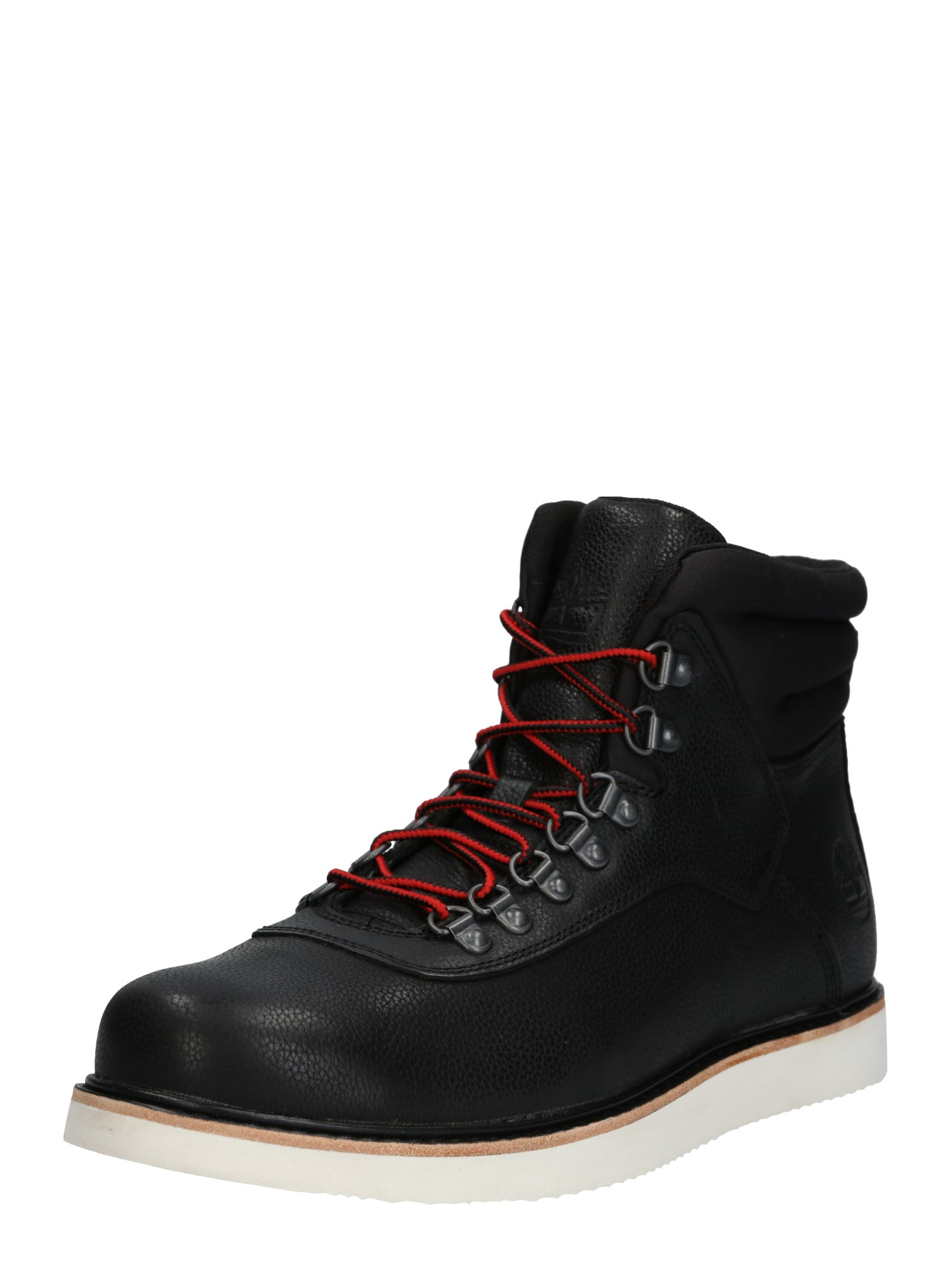 TIMBERLAND Šnurovacie čižmy 'Newmarket Archive Boot'  biela / čierna