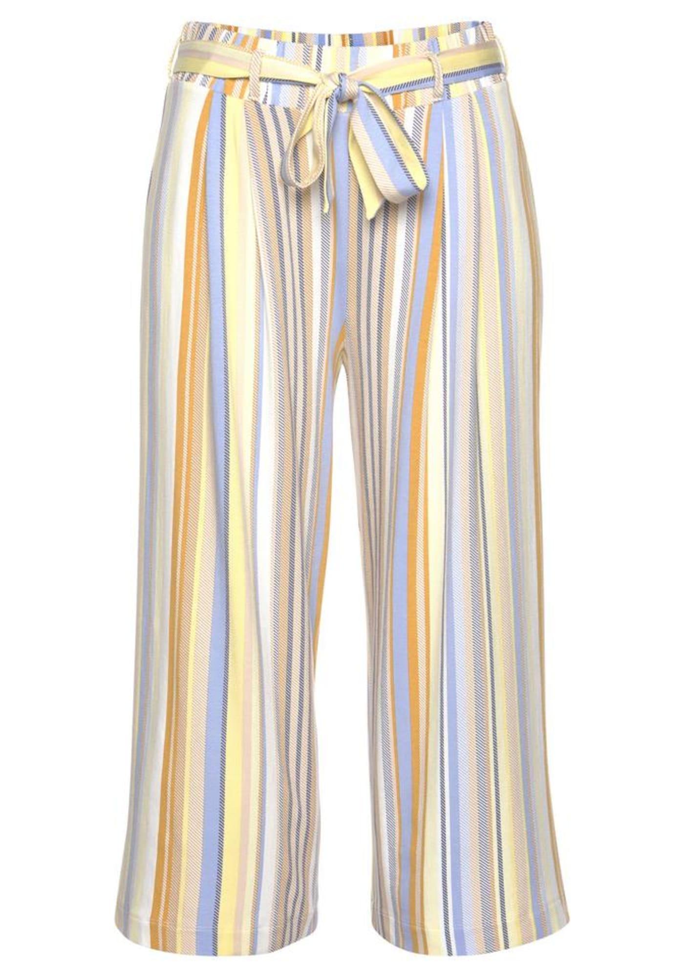 VENICE BEACH Klostuotos kelnės geltona / mėlyna / smėlio / mišrios spalvos