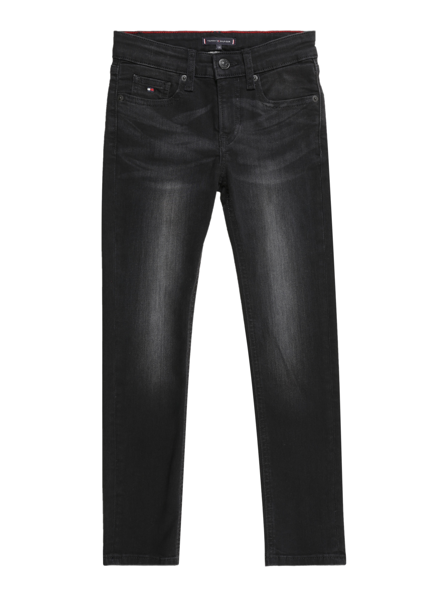 TOMMY HILFIGER Džinsai 'SCANTON' juodo džinso spalva
