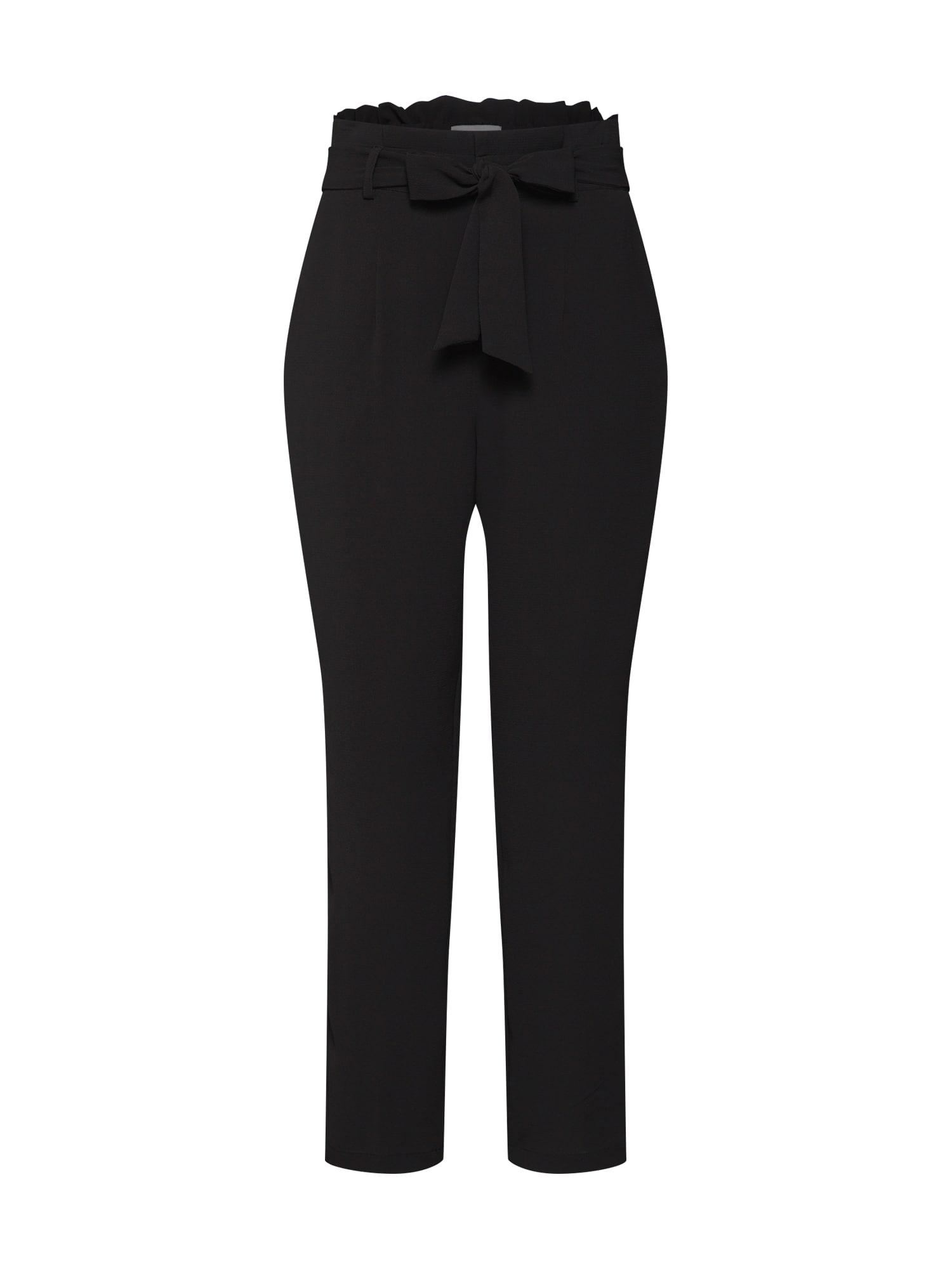 Kalhoty Eleana černá CULTURE