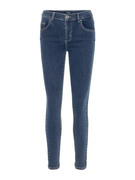 Hosen - Slim Fit Jeans › PIECES › blue denim  - Onlineshop ABOUT YOU