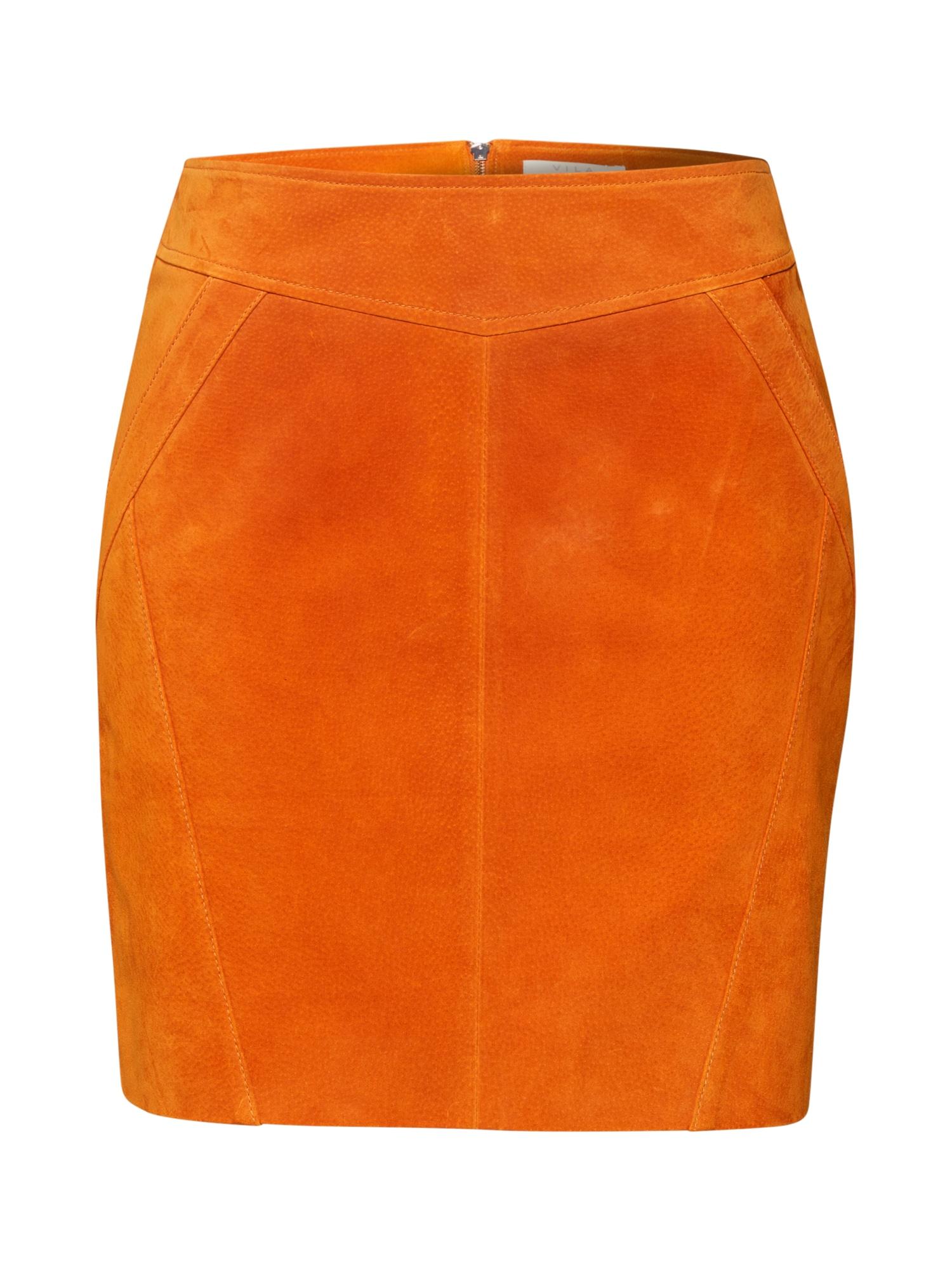 VILA Sijonas 'SUSA' oranžinė
