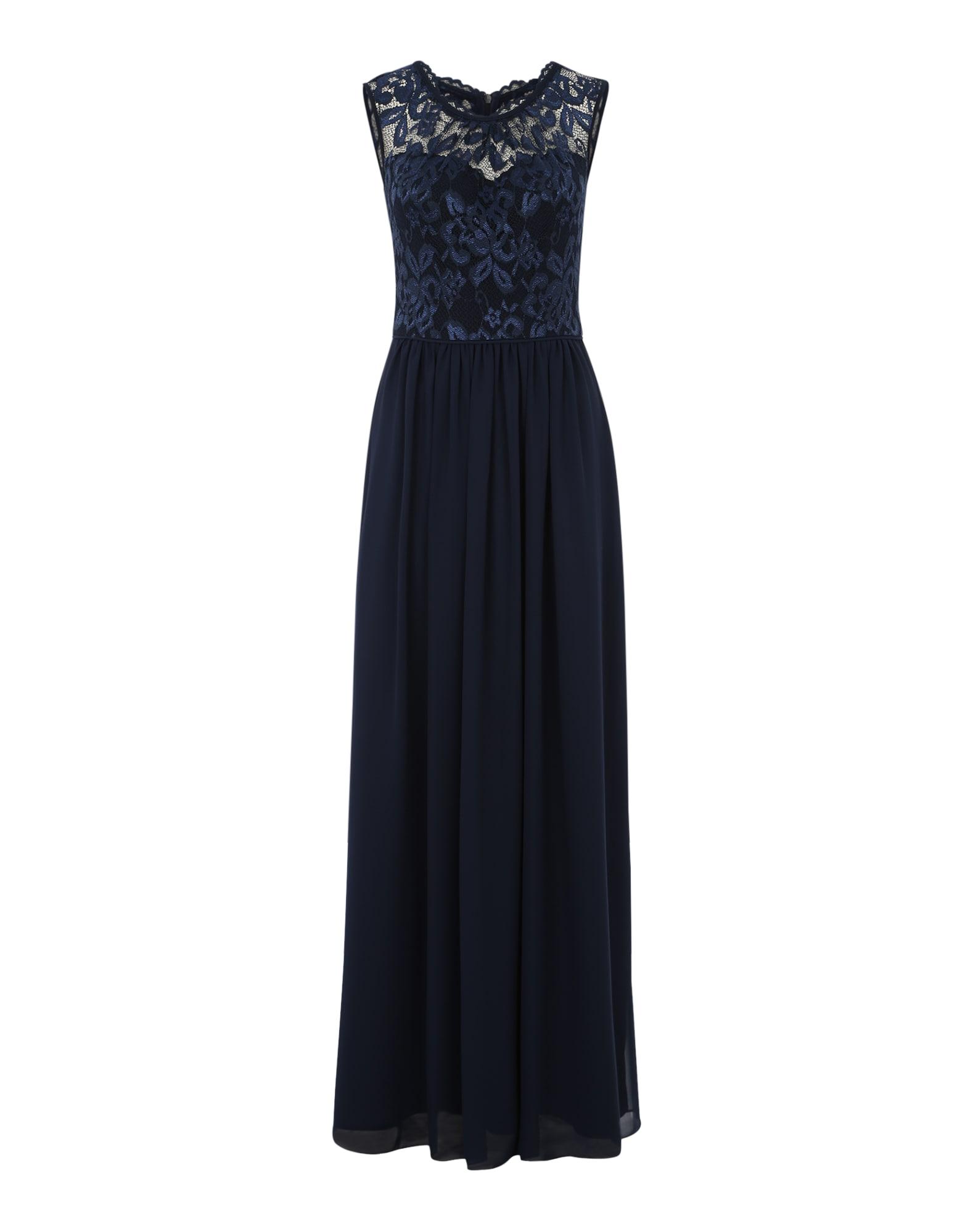 SWING Vakarinė suknelė tamsiai mėlyna jūros spalva