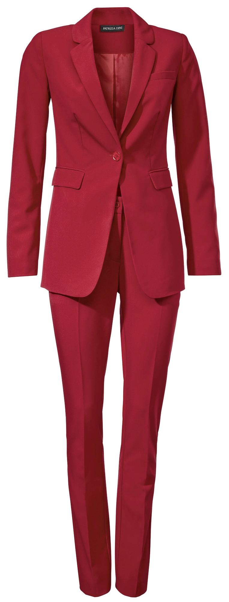 heine Moteriškas kostiumėlis su kelnėmis raudona