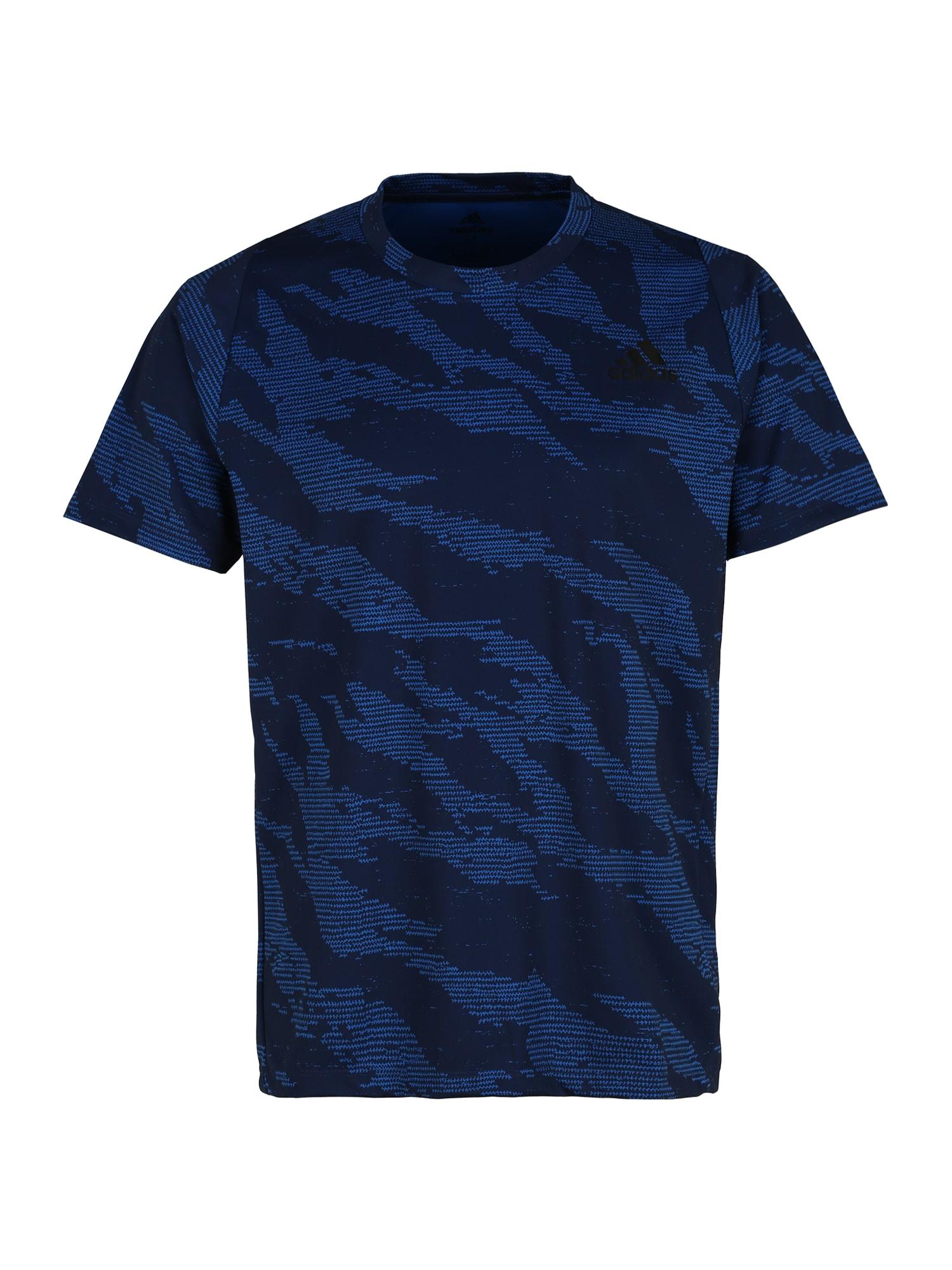 ADIDAS PERFORMANCE Sportiniai marškinėliai 'FL CAMO' mėlyna