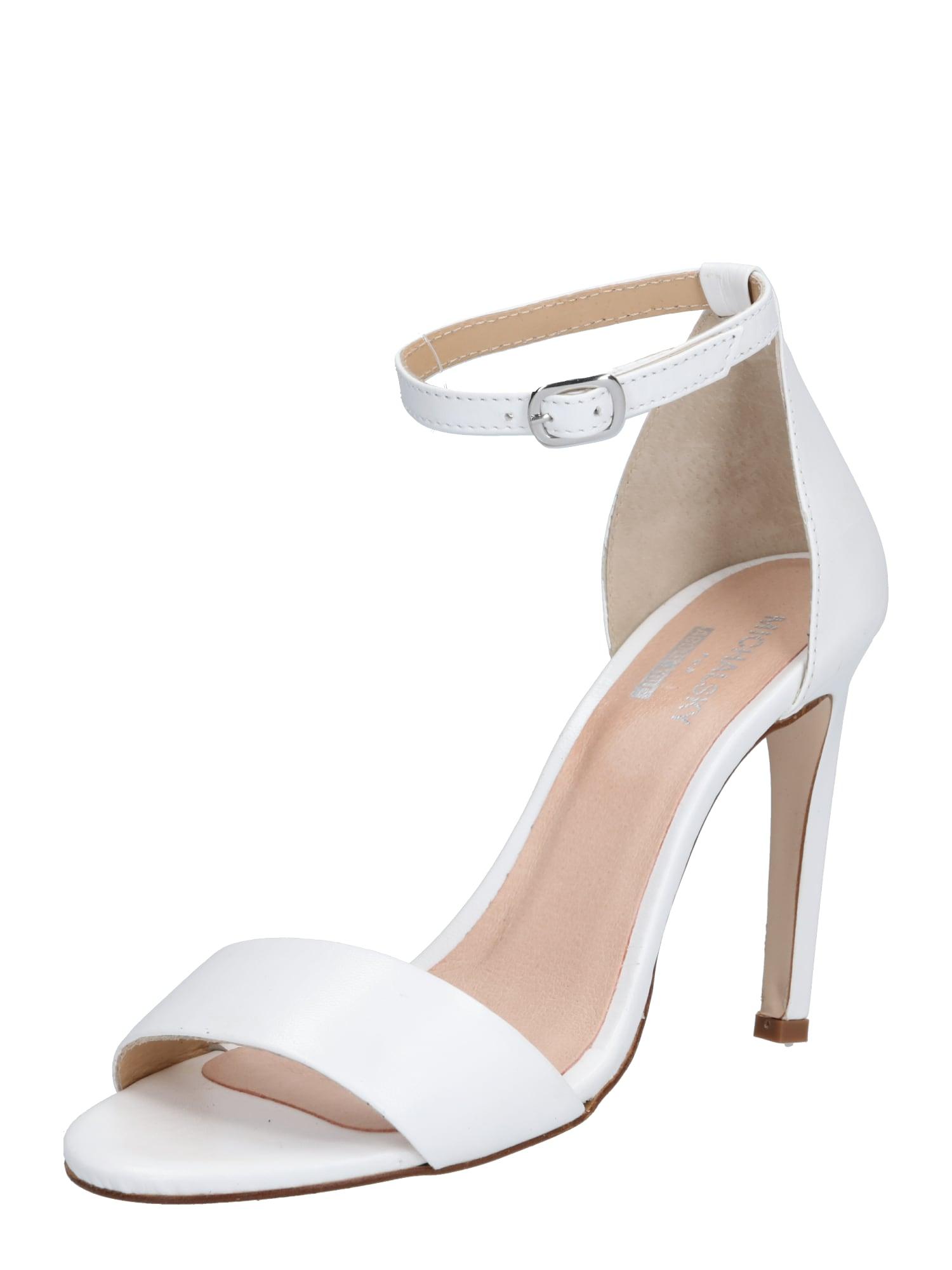 MICHALSKY FOR ABOUT YOU Basutės su dirželiais 'Holly sandal' balta
