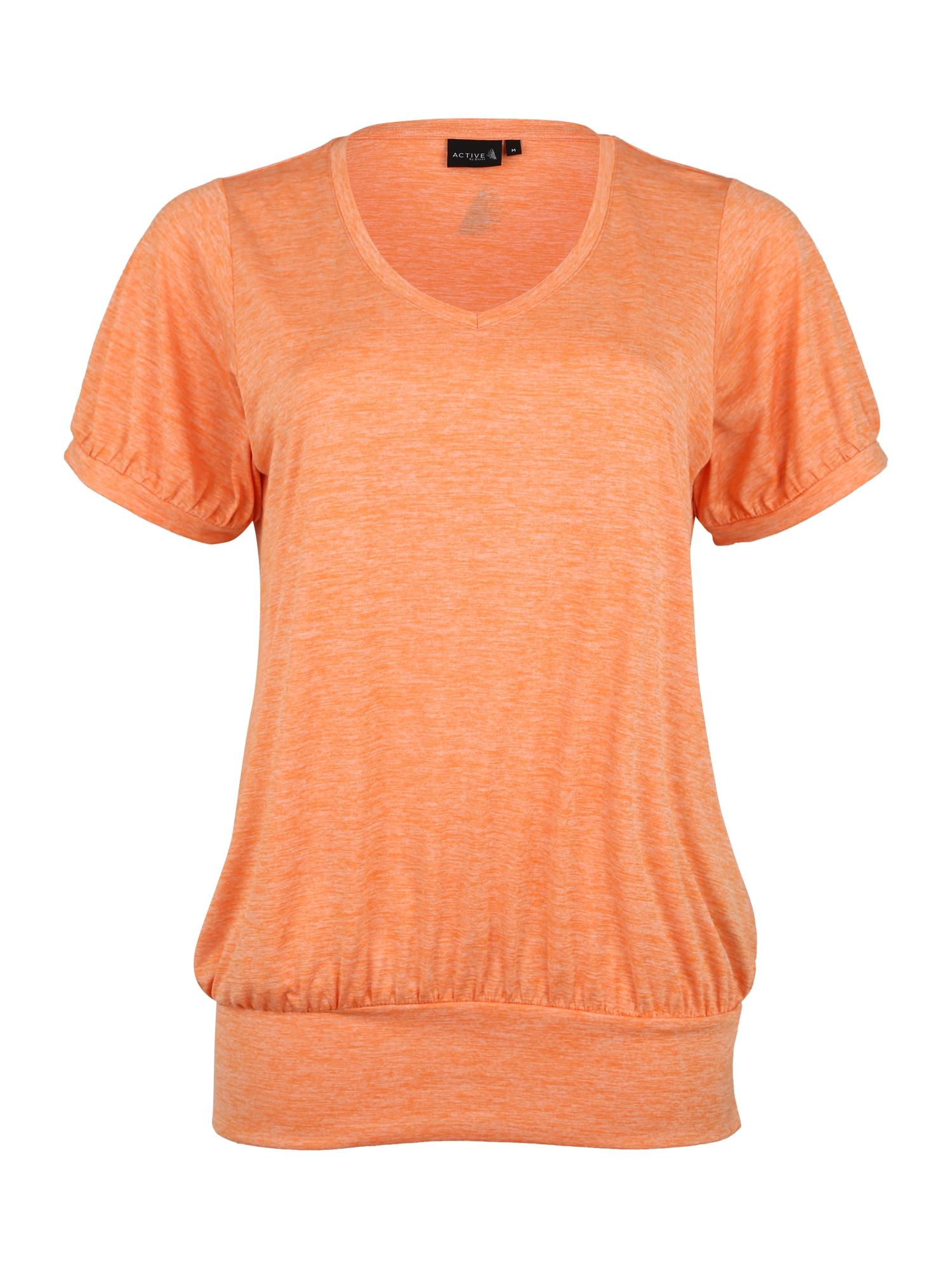 Active by Zizzi Sportiniai marškinėliai 'RANCISCO' šviesiai oranžinė