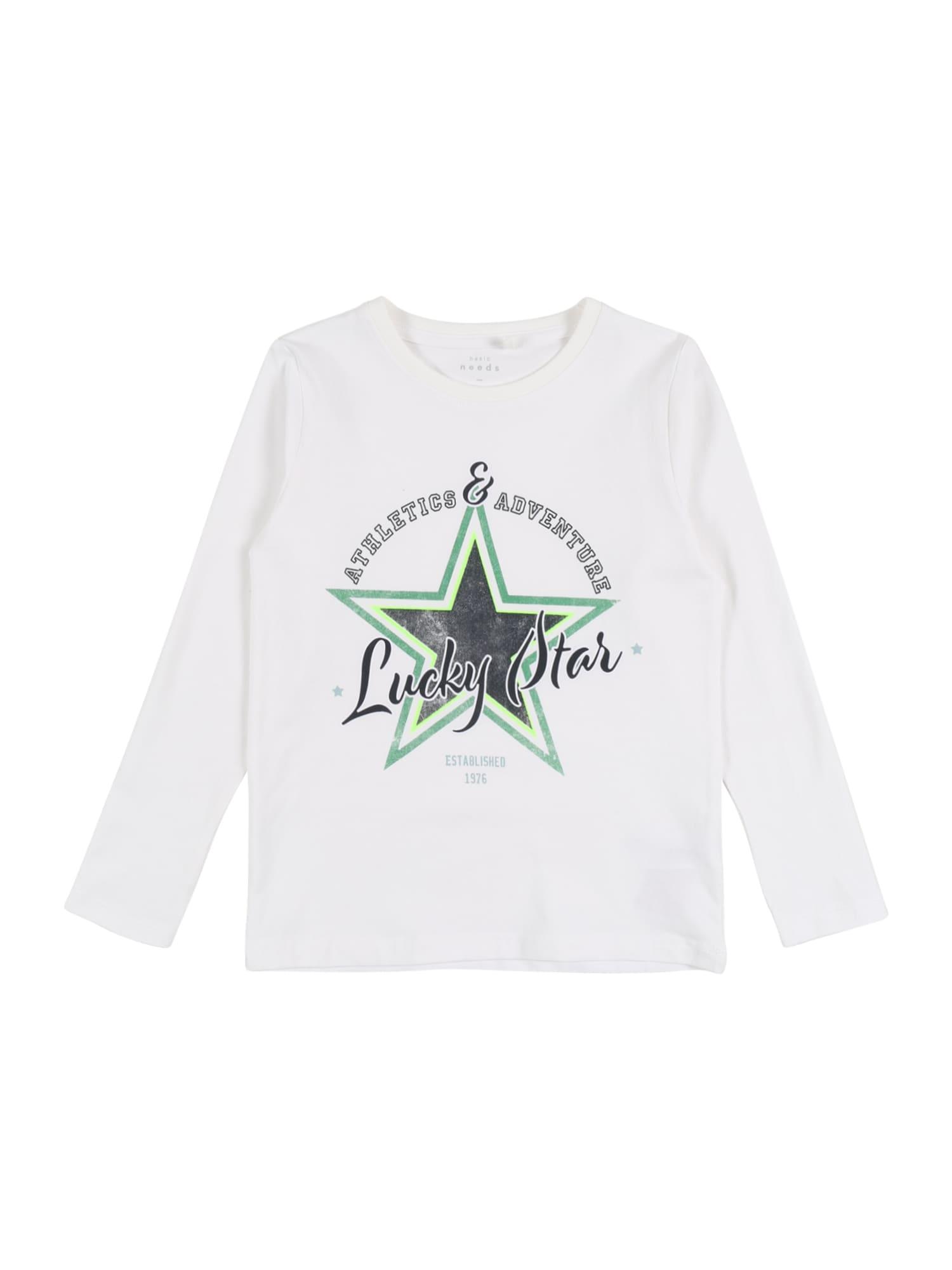 NAME IT Marškinėliai 'NMMVUX LS TOP TT' balta