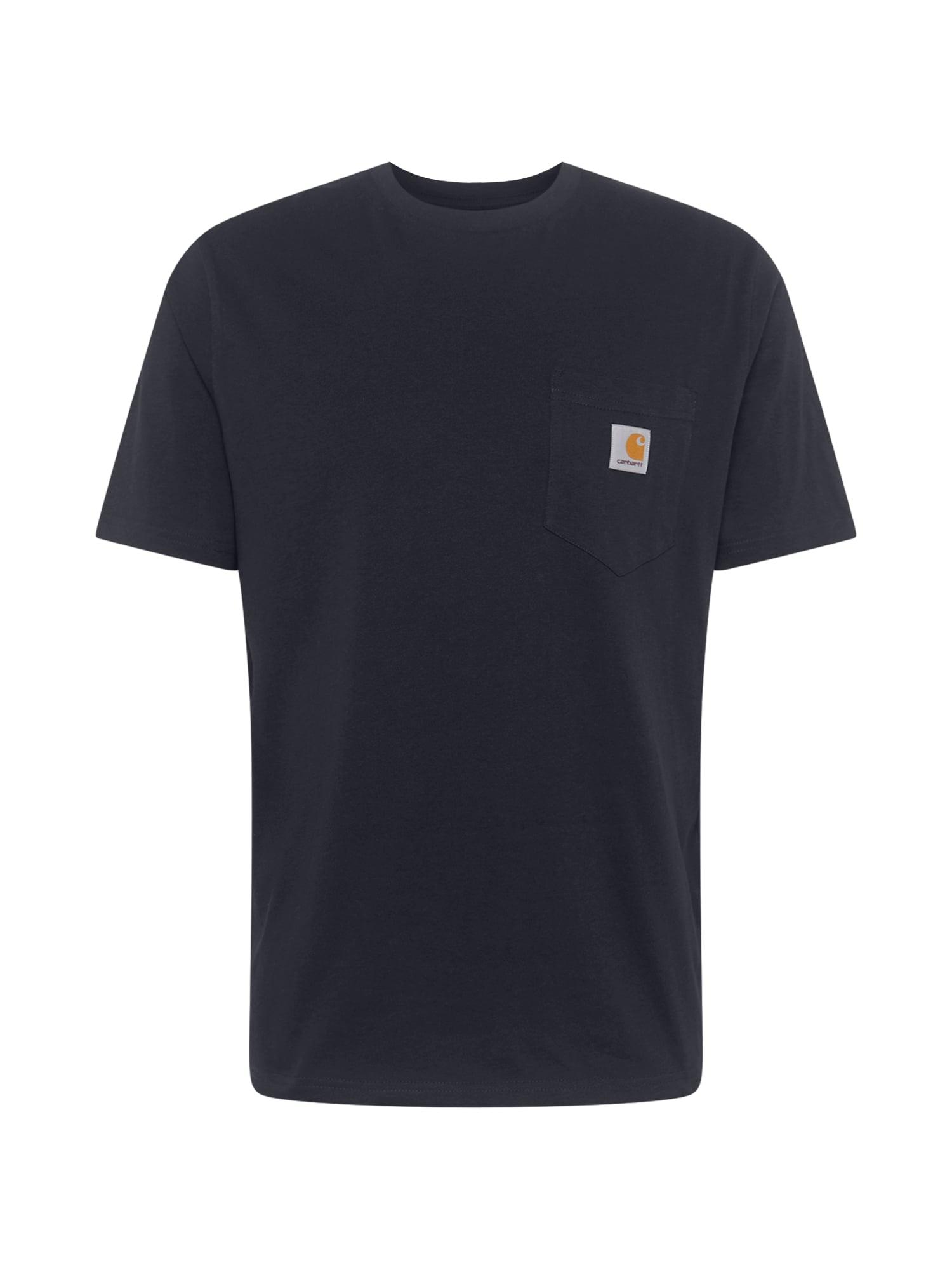 Carhartt WIP Marškinėliai tamsiai mėlyna