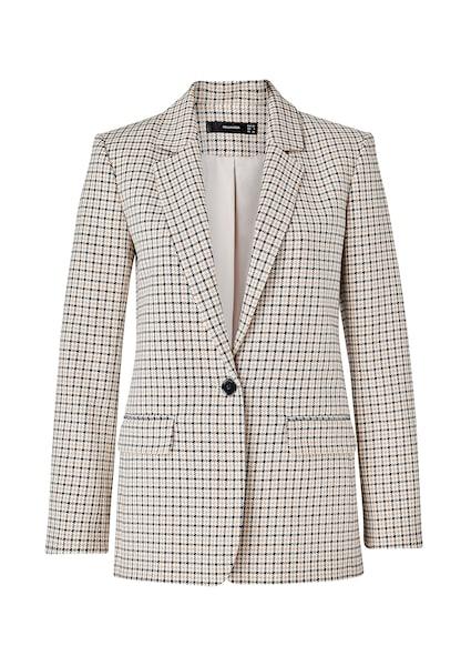 Jacken für Frauen - HALLHUBER Blazer beige hellbraun schwarz  - Onlineshop ABOUT YOU