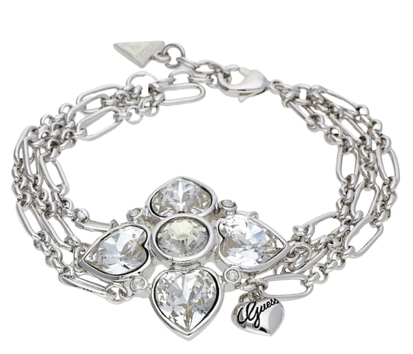 Armbaender für Frauen - GUESS Armband 'UBB91109' silber  - Onlineshop ABOUT YOU