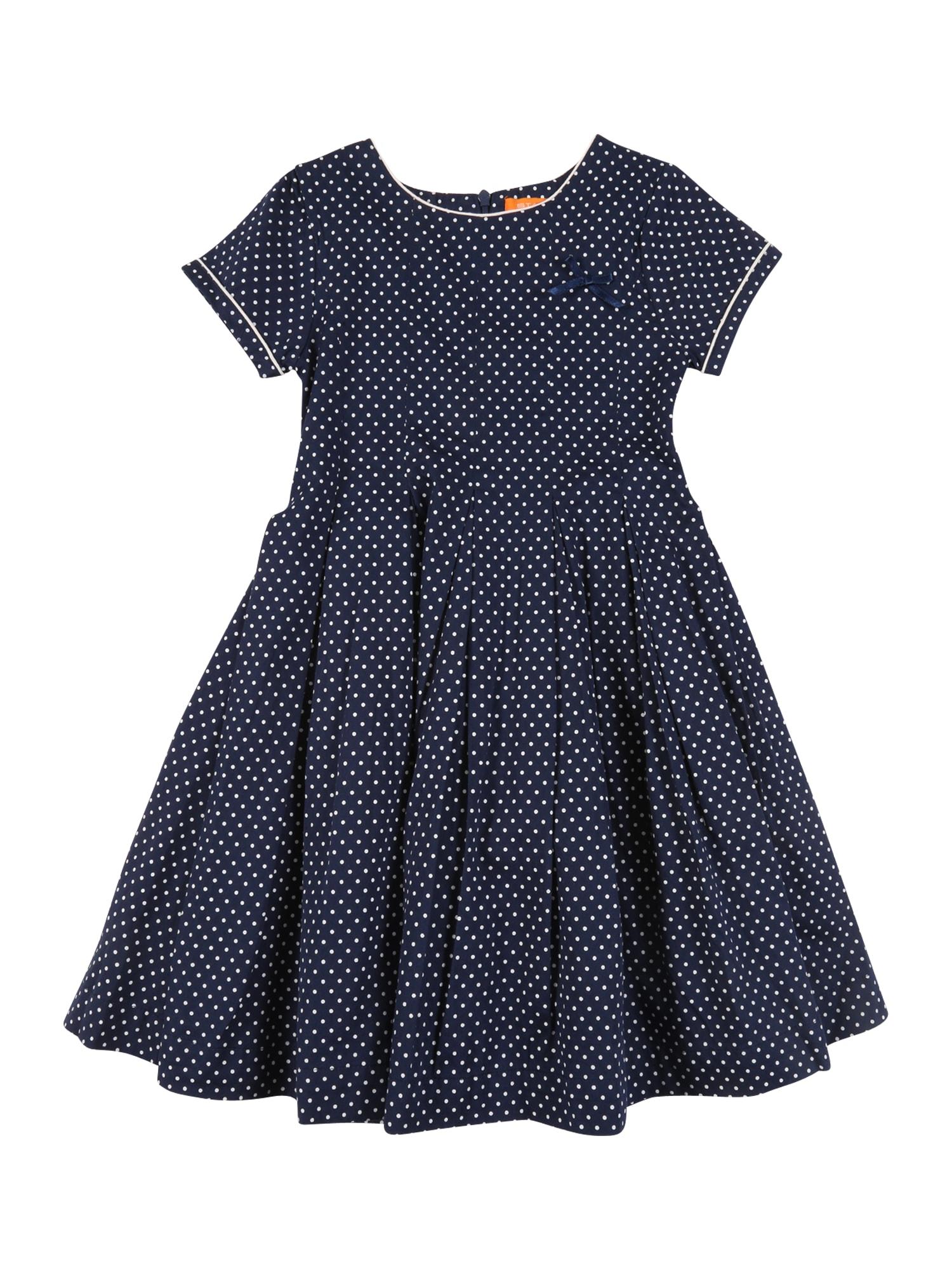 STACCATO Suknelė tamsiai mėlyna / balta