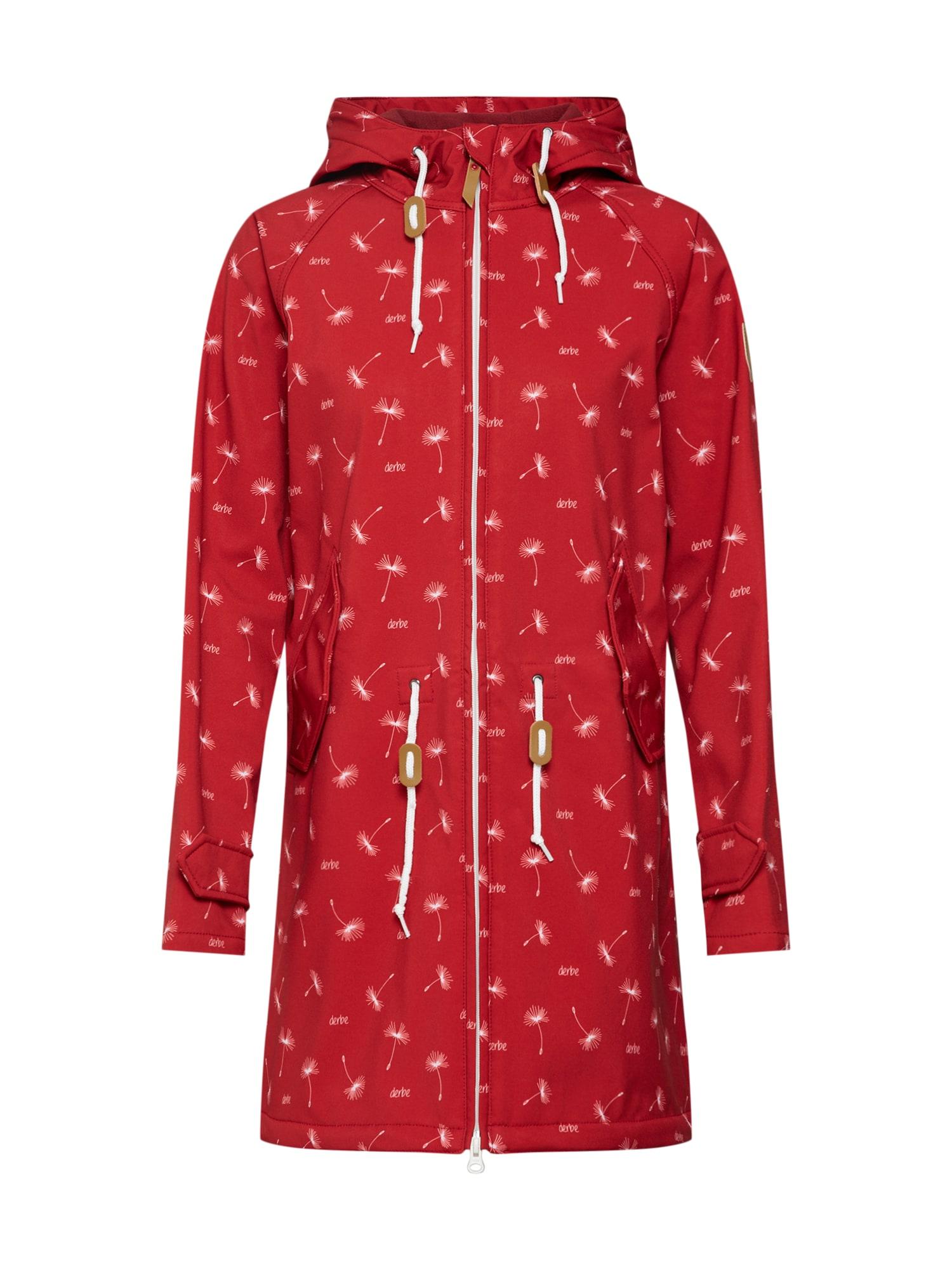 Přechodná bunda červená Derbe