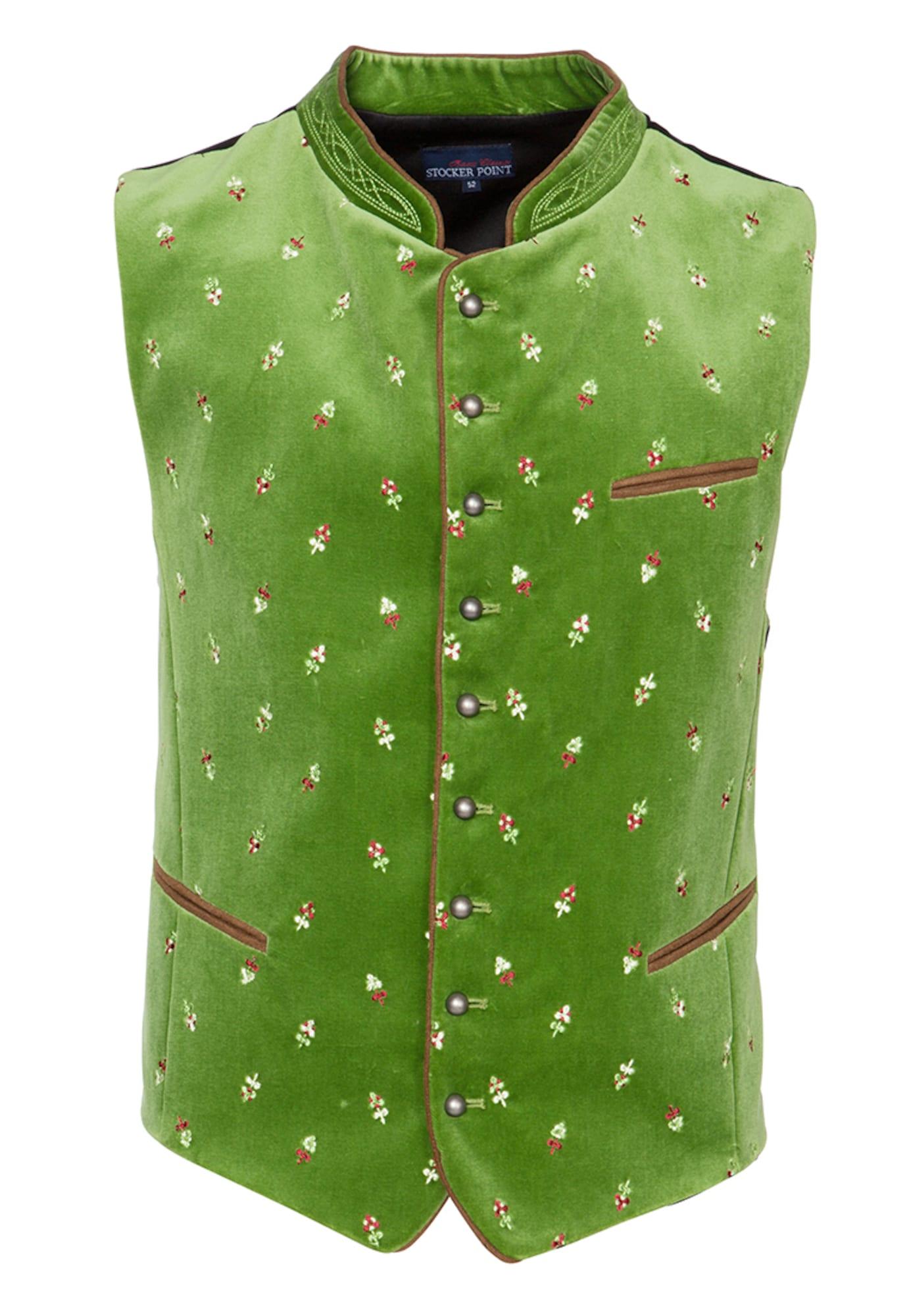 STOCKERPOINT Dalykinio stiliaus liemenė 'Calzado' žolės žalia
