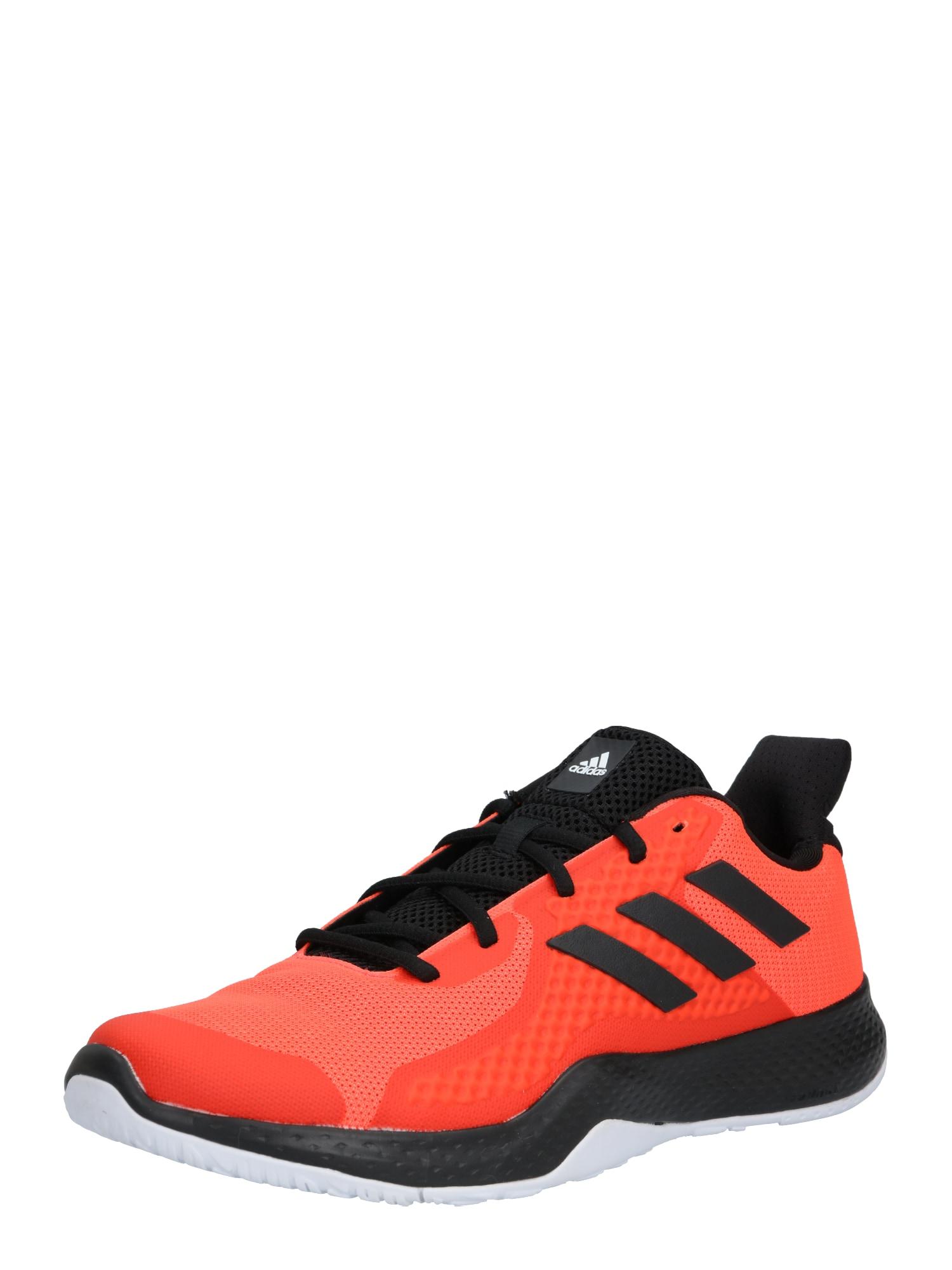 ADIDAS PERFORMANCE Sportiniai batai juoda / tamsiai oranžinė