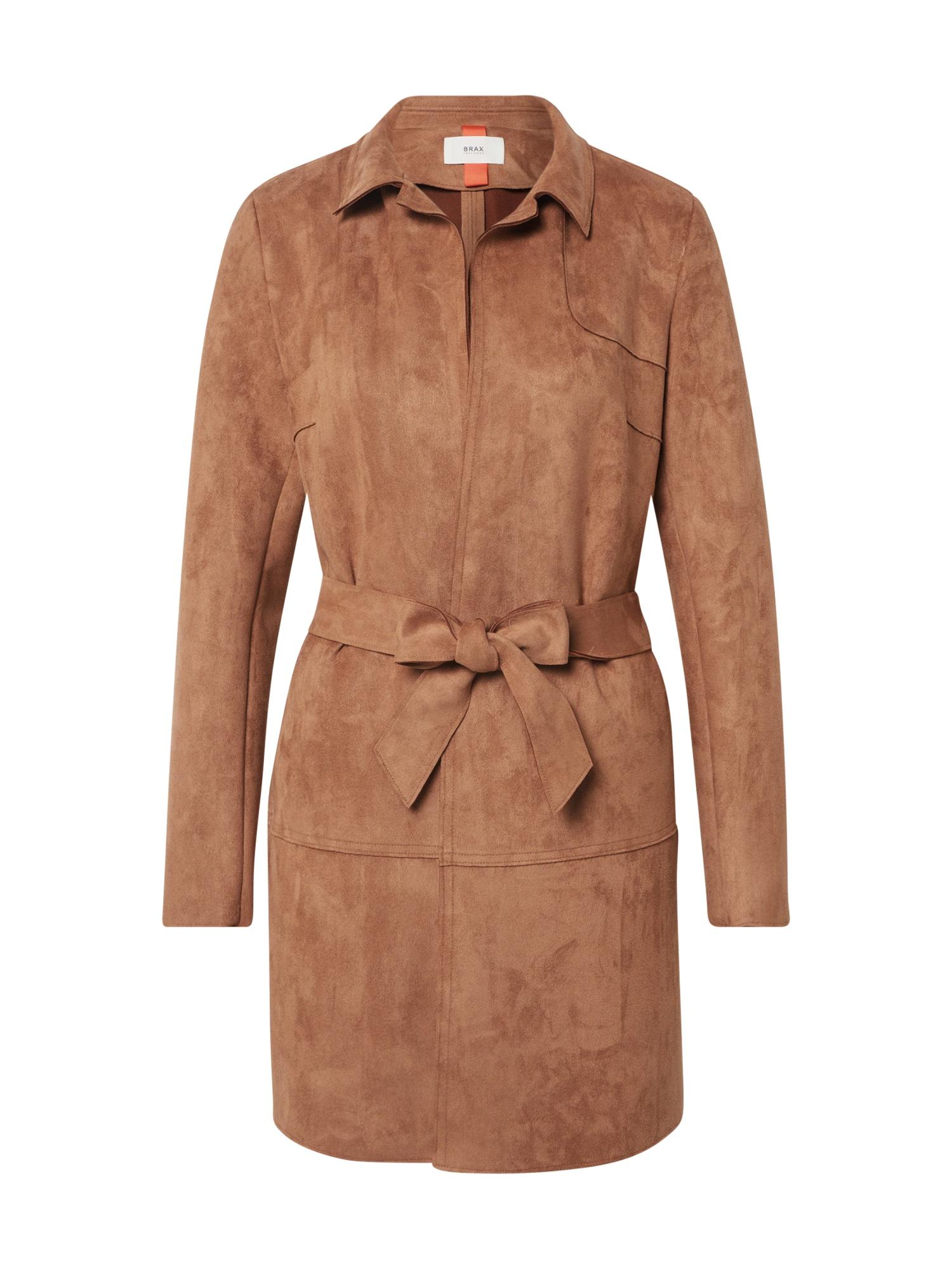 BRAX Rudeninis-žieminis paltas 'BERLIN' zomšos spalva