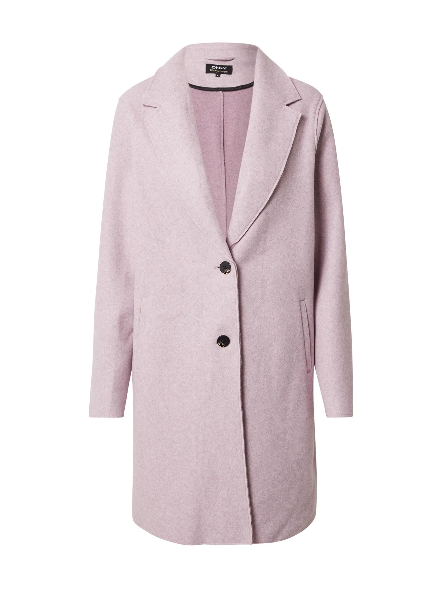 ONLY Tenký kabát  růžová