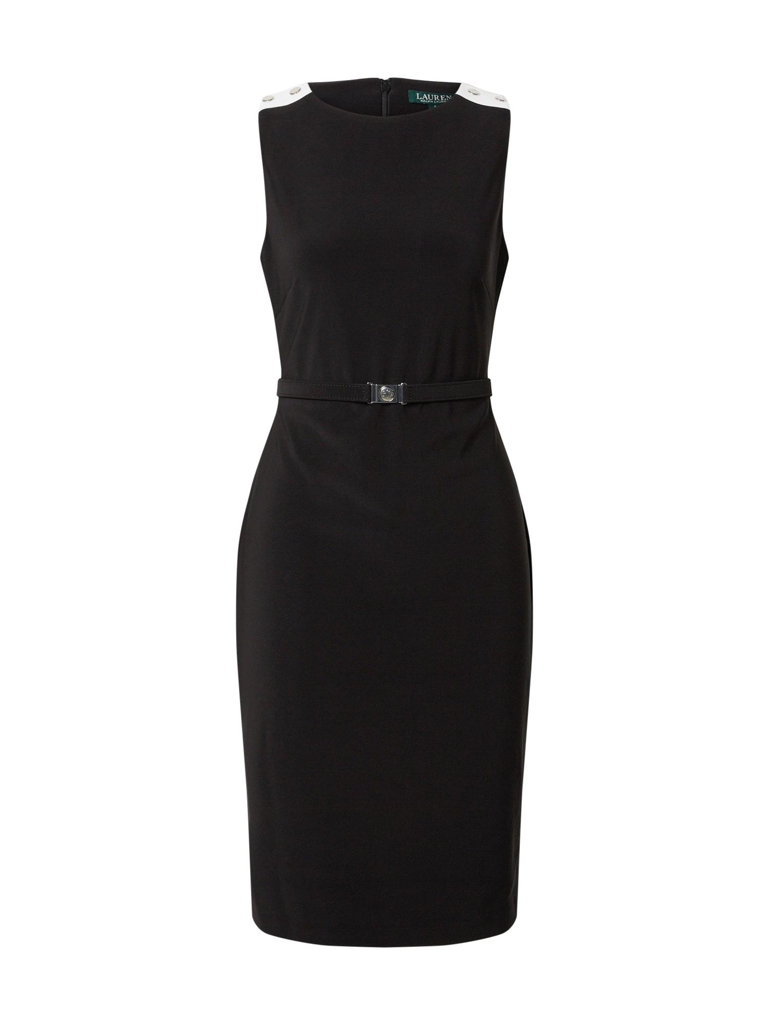 Lauren Ralph Lauren Puzdrové šaty 'STIELER-SLEEVELESSDAY'  čierna