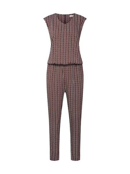 Hosen für Frauen - Overall 'SC VENDI 4' › Soyaconcept › braun rot weiß  - Onlineshop ABOUT YOU