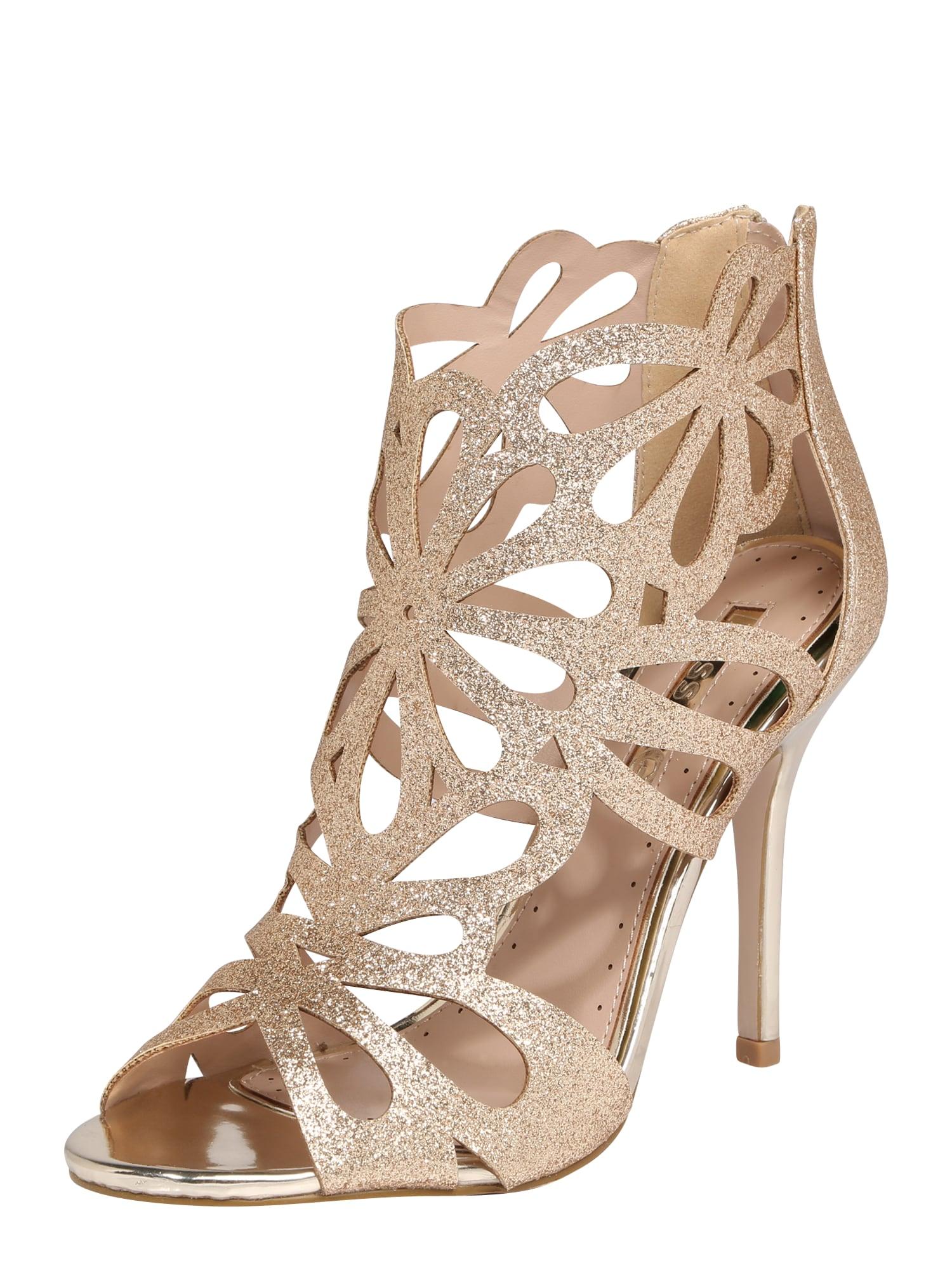 Sandály Flutter zlatá Miss KG