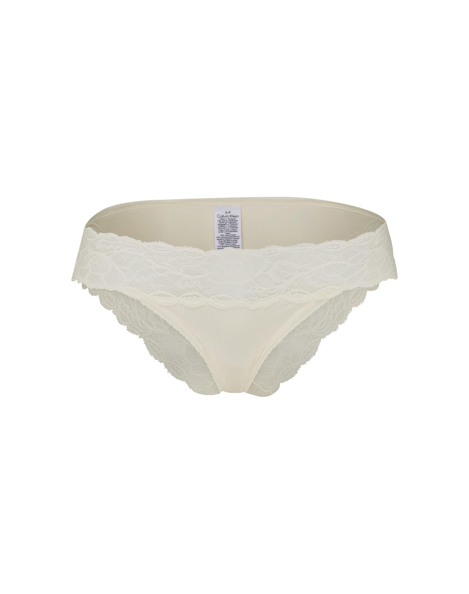 Calvin Klein Underwear Moteriškos kelnaitės balta
