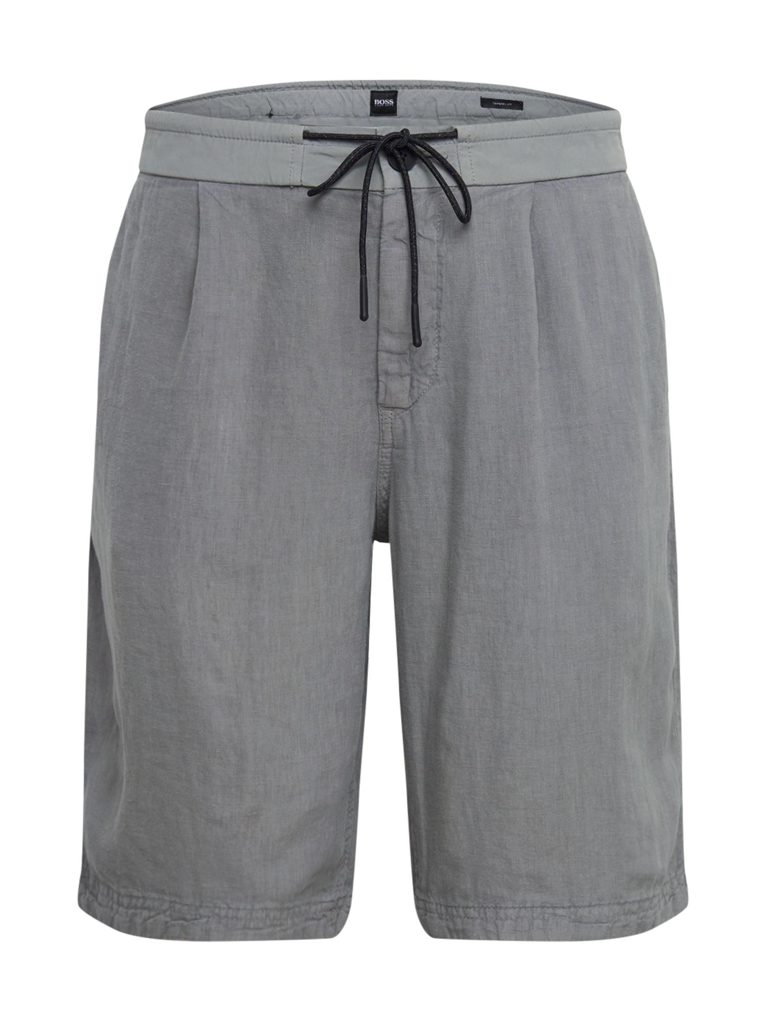BOSS Kelnės 'Symoon' pilka