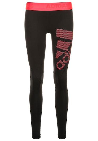 Sportmode für Frauen - ADIDAS PERFORMANCE Trainingtight 'Alphaskin Sport' koralle schwarz  - Onlineshop ABOUT YOU