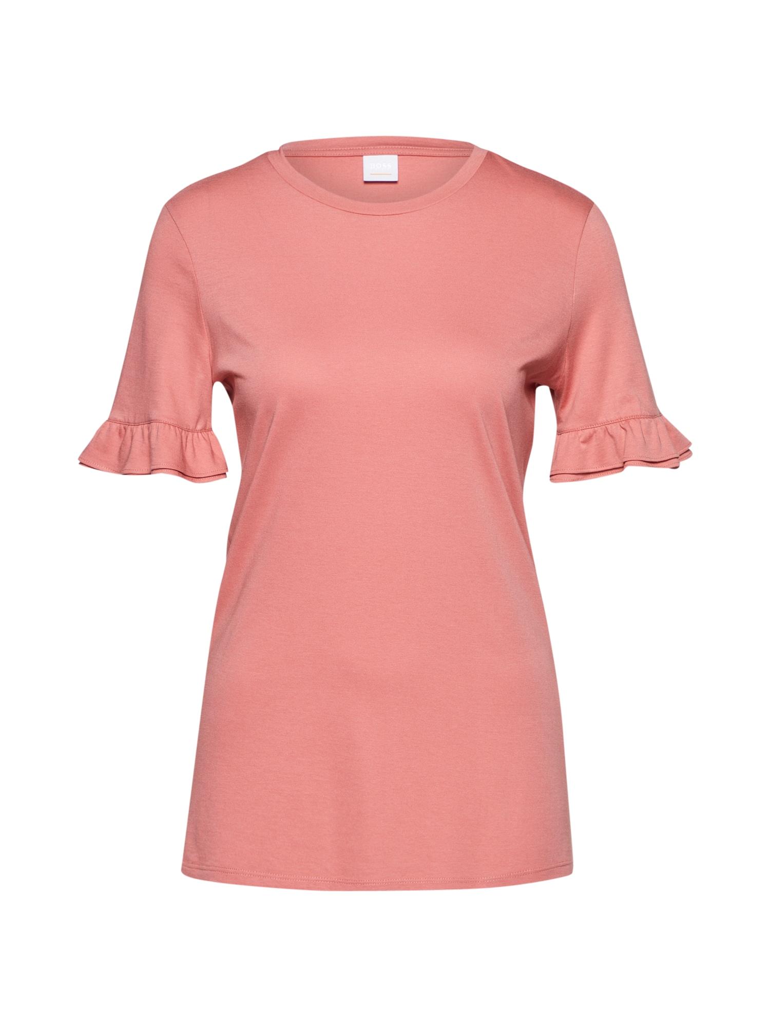 Tričko Takatja růžová BOSS