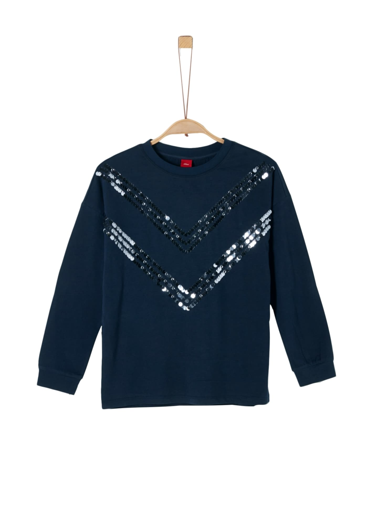 s.Oliver Junior Marškinėliai tamsiai mėlyna