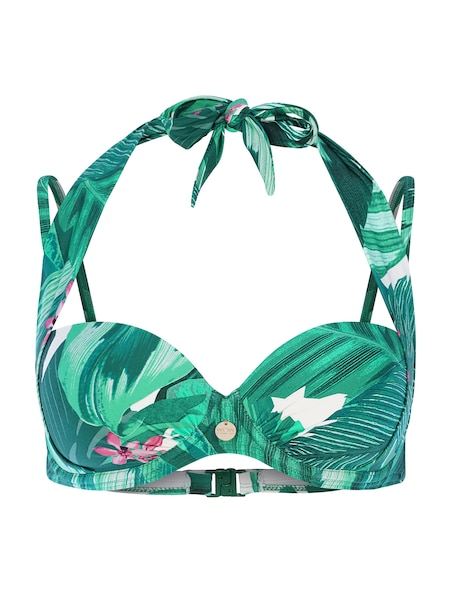 Bademode - Bikinitop › TC WOW › grün jade cyclam weiß  - Onlineshop ABOUT YOU